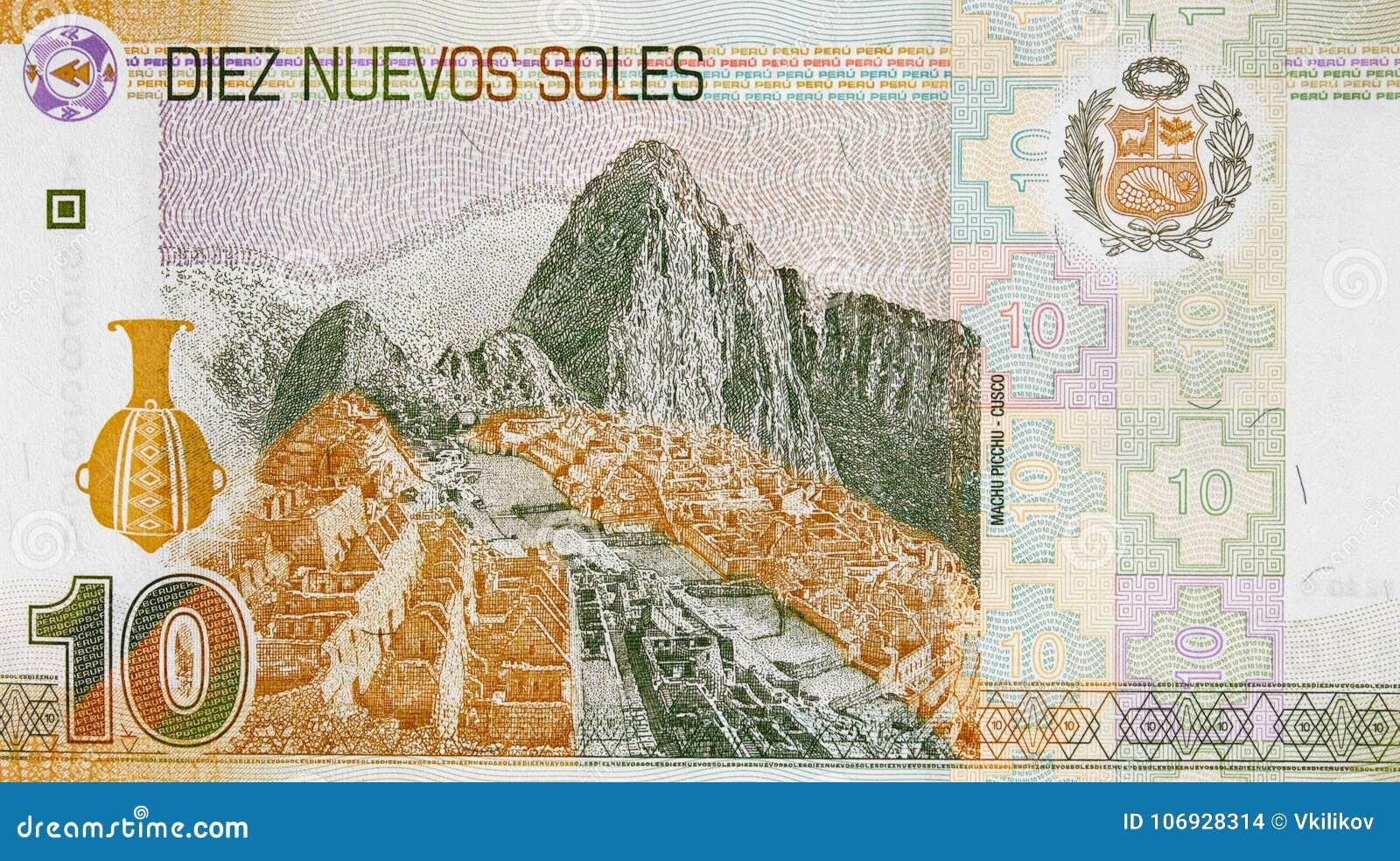 Machu picchu on peru currency 10 soles 2009 banknote peruvian stock download machu picchu on peru currency 10 soles 2009 banknote peruvian stock photo image altavistaventures Images