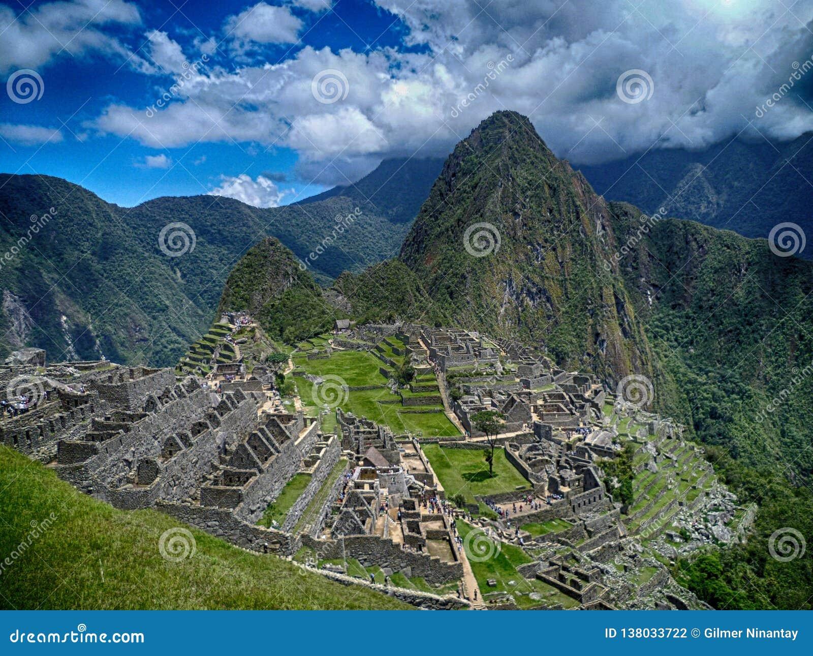 Machu Picchu Peru Cusco