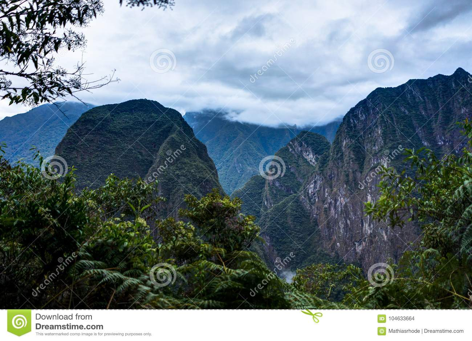 Download Machu Picchu In Peru Custo South America Stock Foto - Afbeelding bestaande uit inca, landschap: 104633664