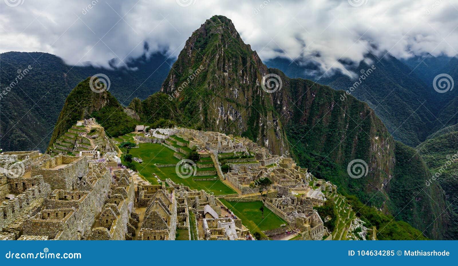 Download Machu Picchu In Peru Custo South America Stock Afbeelding - Afbeelding bestaande uit andes, archeologie: 104634285