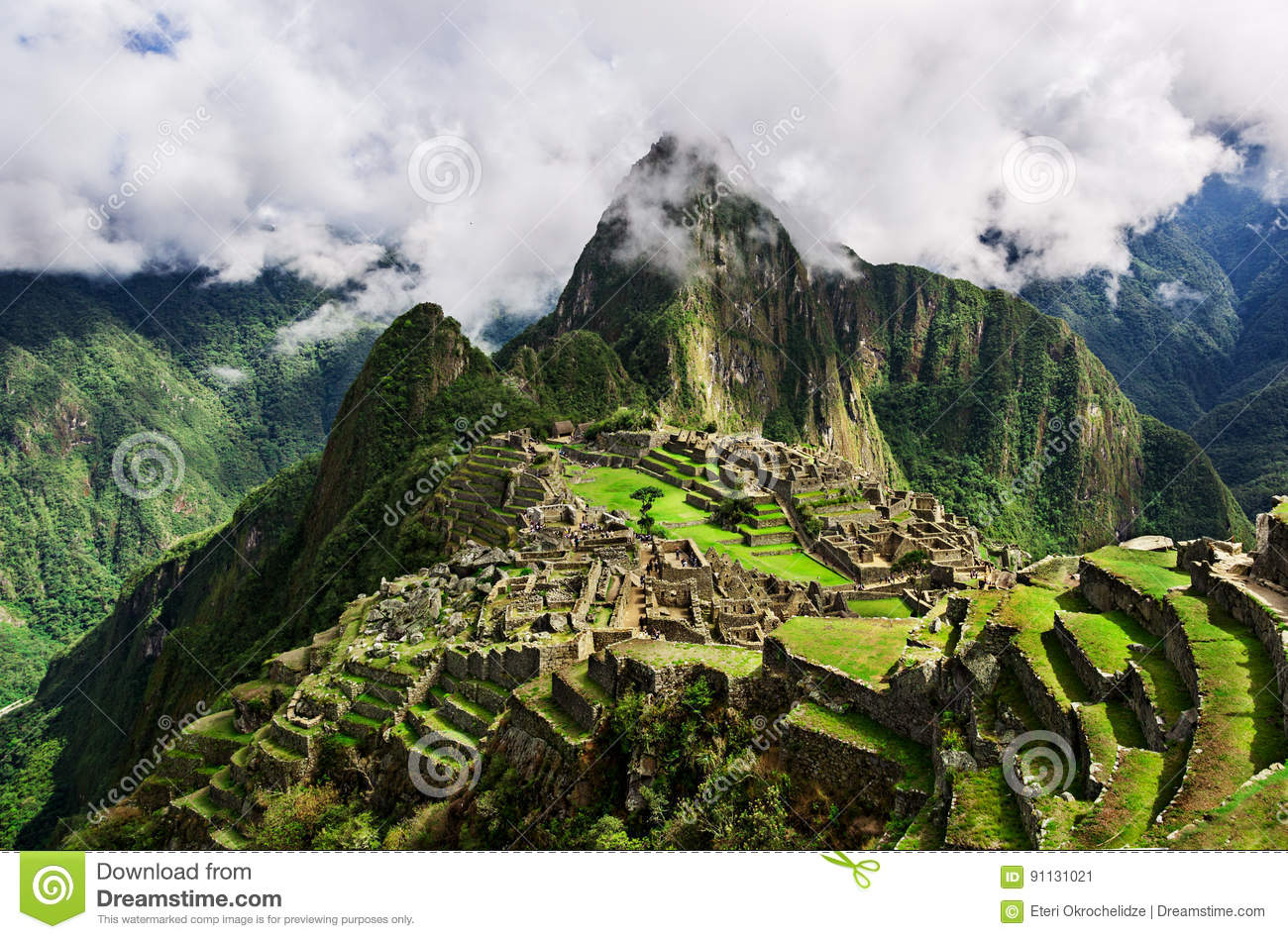 Machu Picchu, a Peruvian Historical Sanctuary in 1981 and a UNESCO World Heritage Site in 1983. One of the New Seven Wonders of th