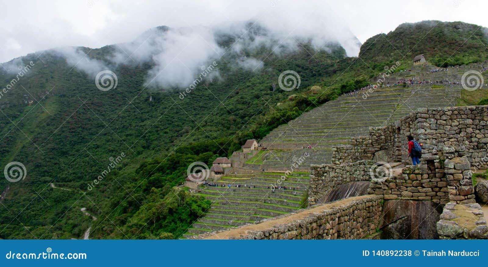 Machu Picchu, ruïnes, Peru, 02/08/2019