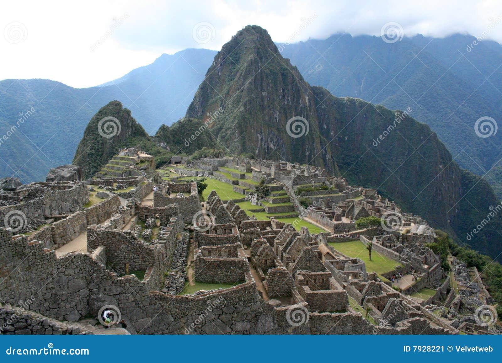 Machu Picchu Ruins Stock Image - Image: 7928221