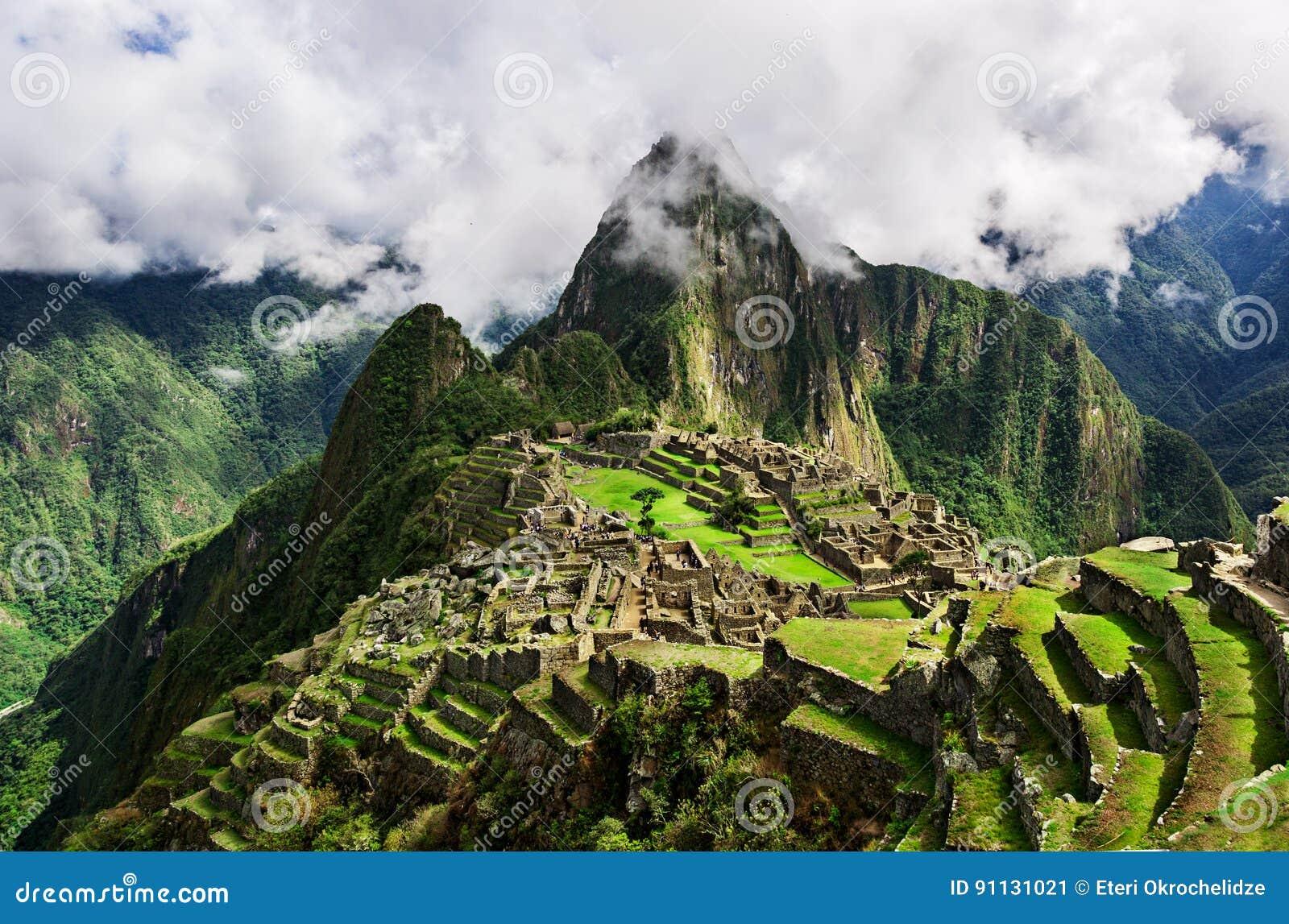 Machu Picchu, un santuario storico peruviano nel 1981 e un patrimonio mondiale dell Unesco colloca nel 1983 Una di nuove sette me