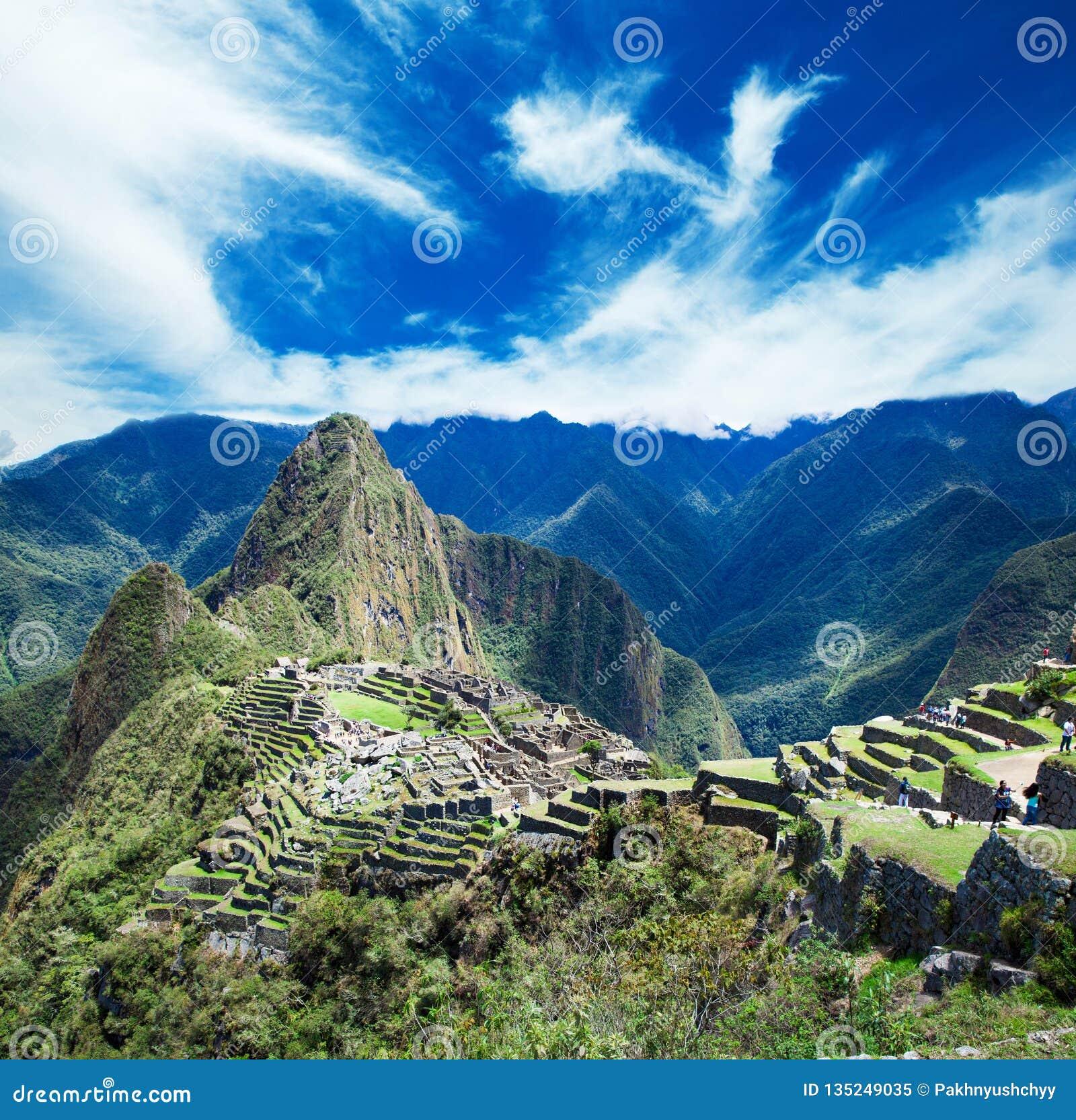 Machu Picchu, una UNESCO