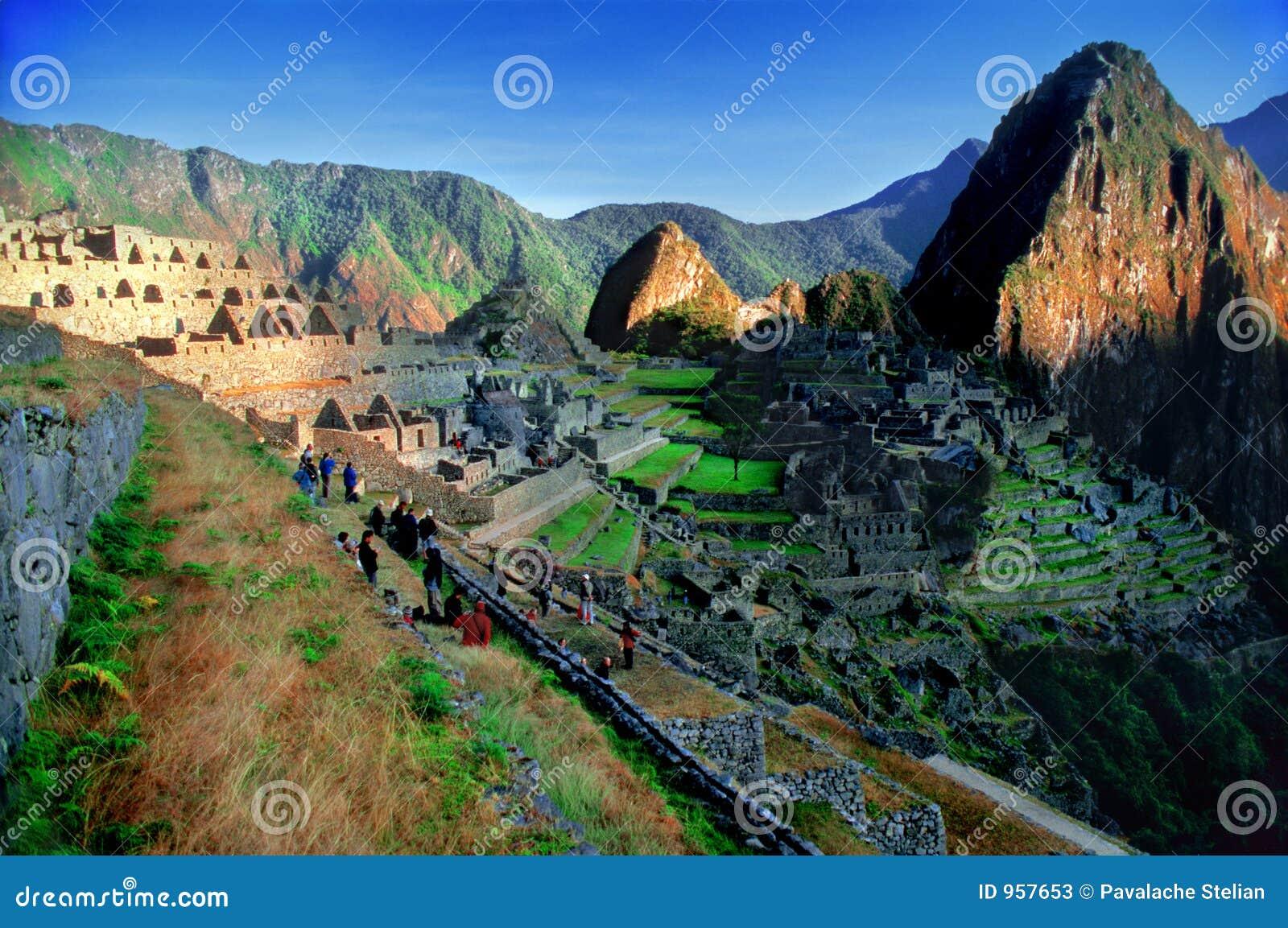 Machu Picchu from Peru (overview)