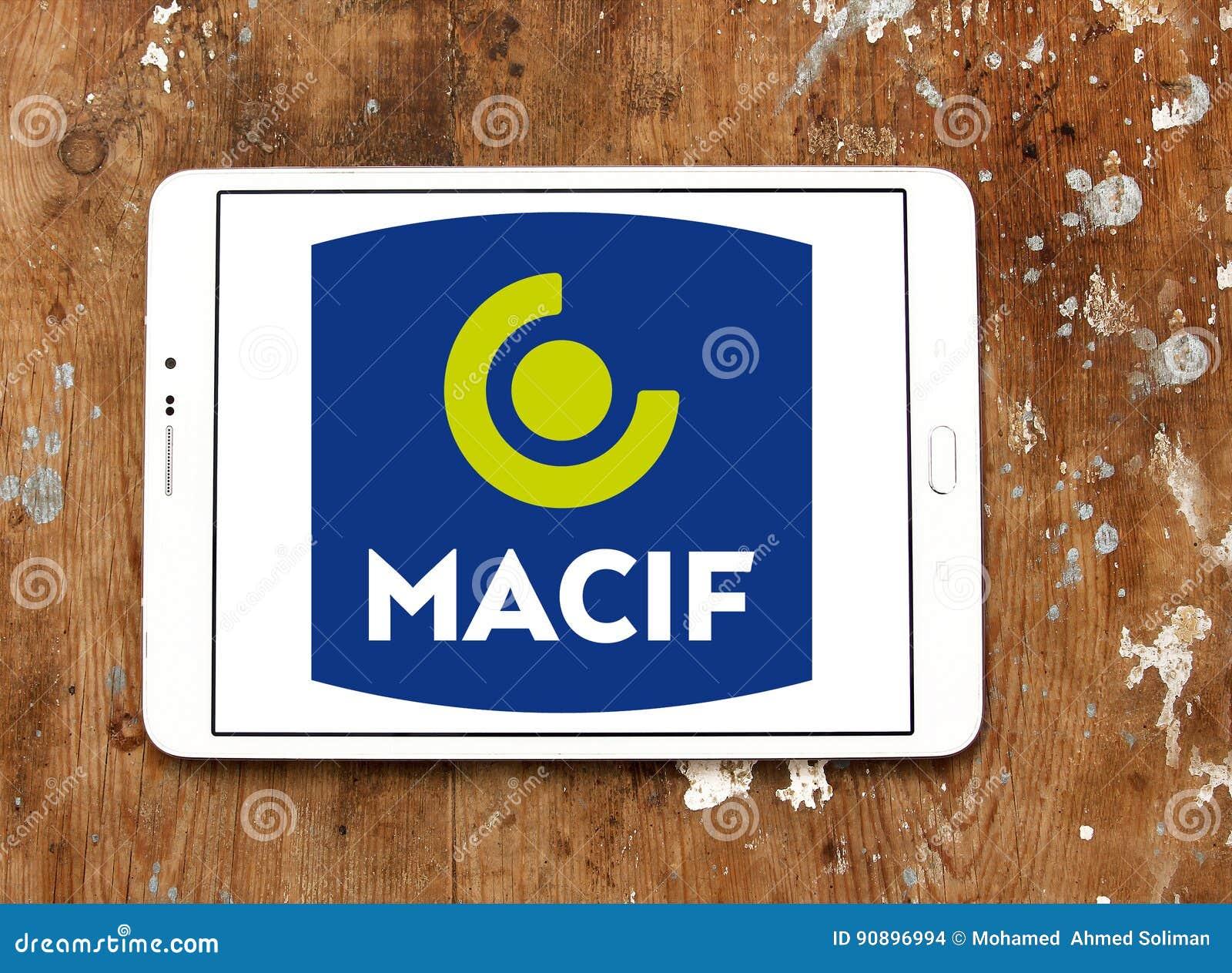 Macif Insurance Company Logo Editorial Stock Image Image Of Macif