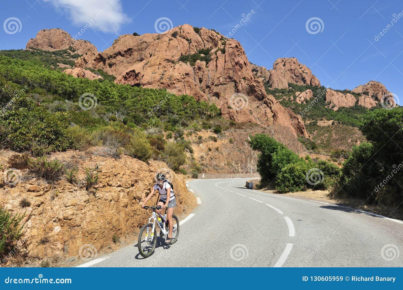 Macizo de l Esterel Biking, Cote d Azur, Provence, Francia