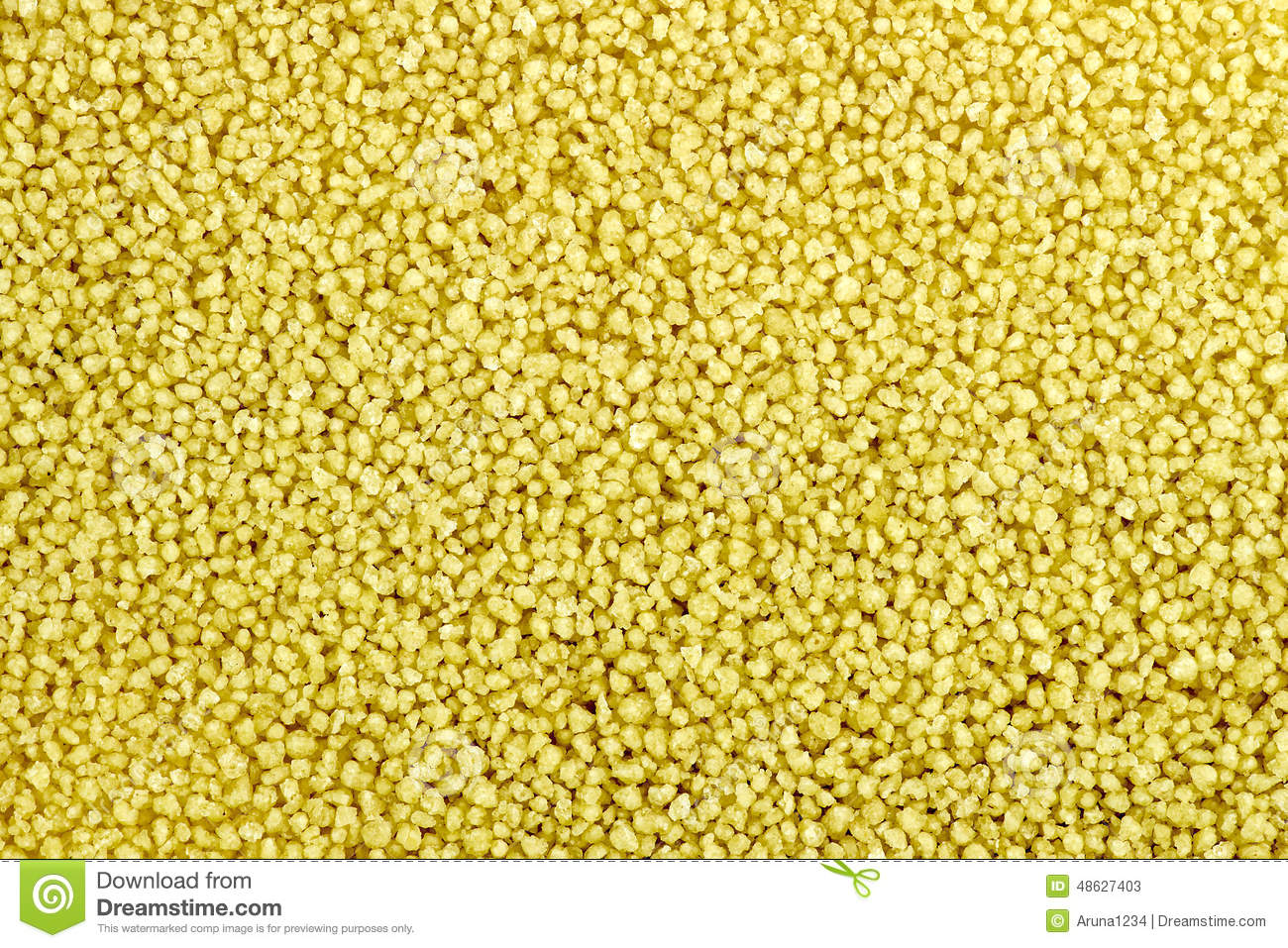 Macro Background Texture Of Raw Uncooked Couscous Stock ...