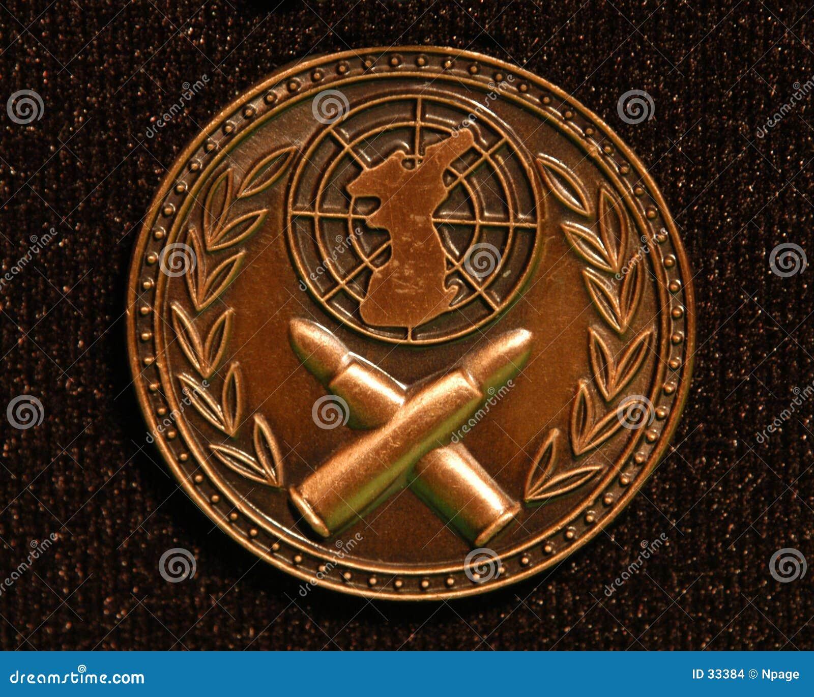 Macro da medalha