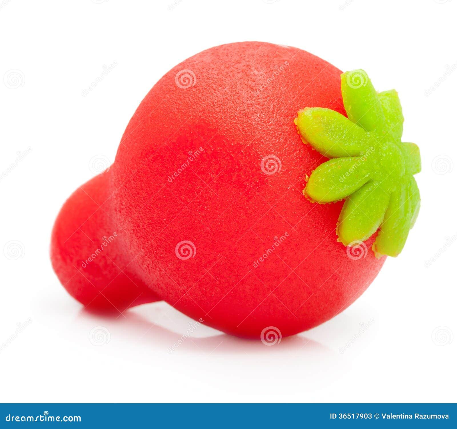 Macro de fraise