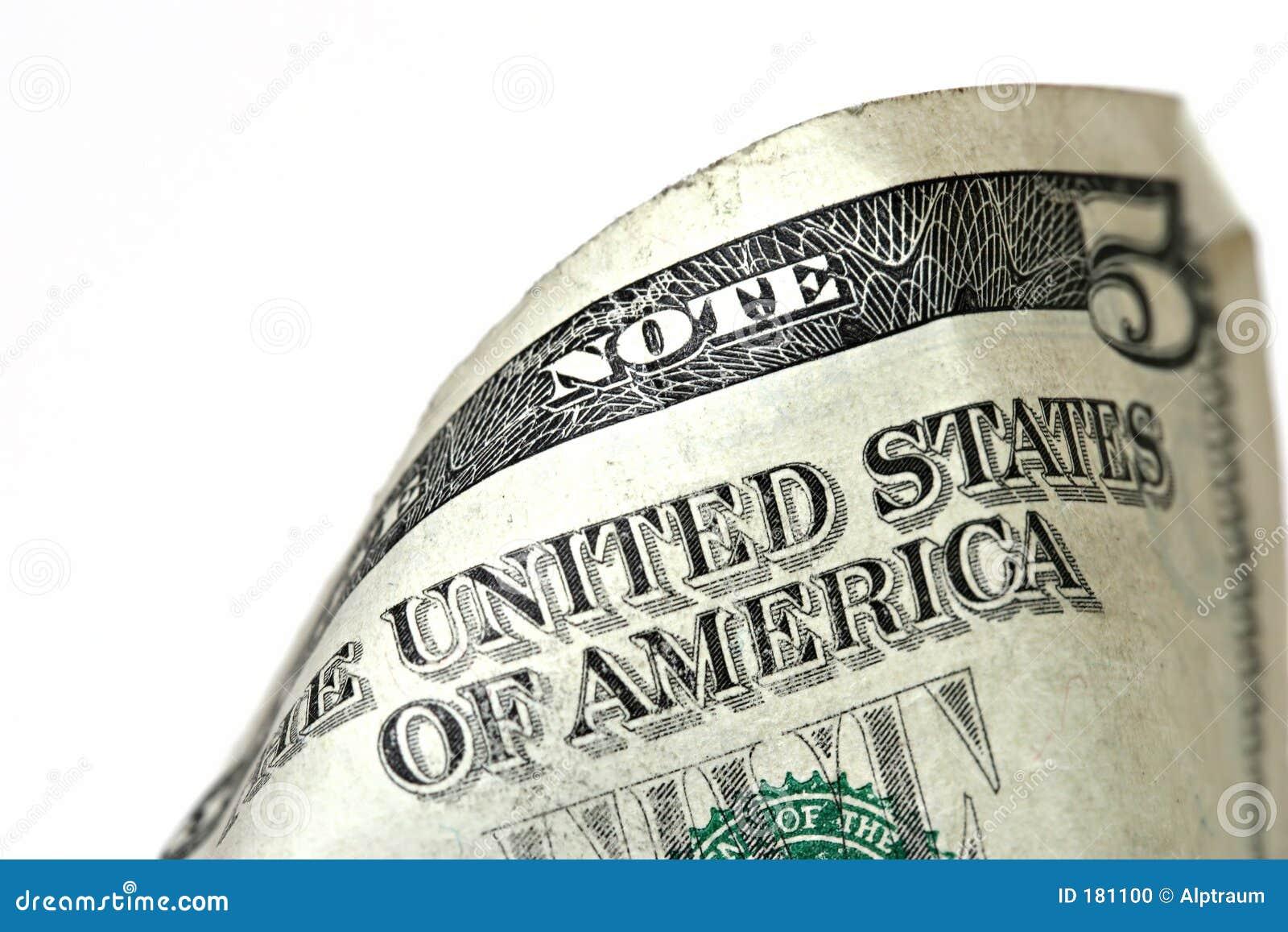 Macro de la cuenta de dólar cinco