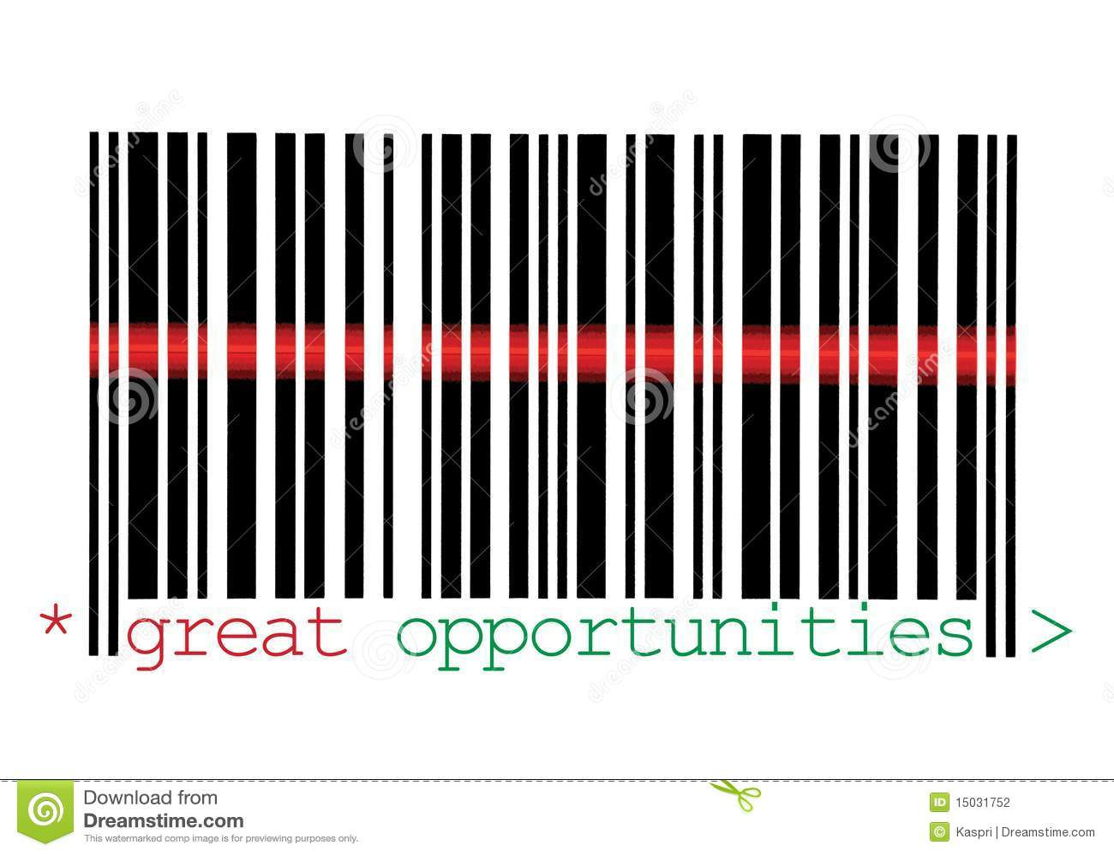 Macro de varredura do código de barras das grandes oportunidades