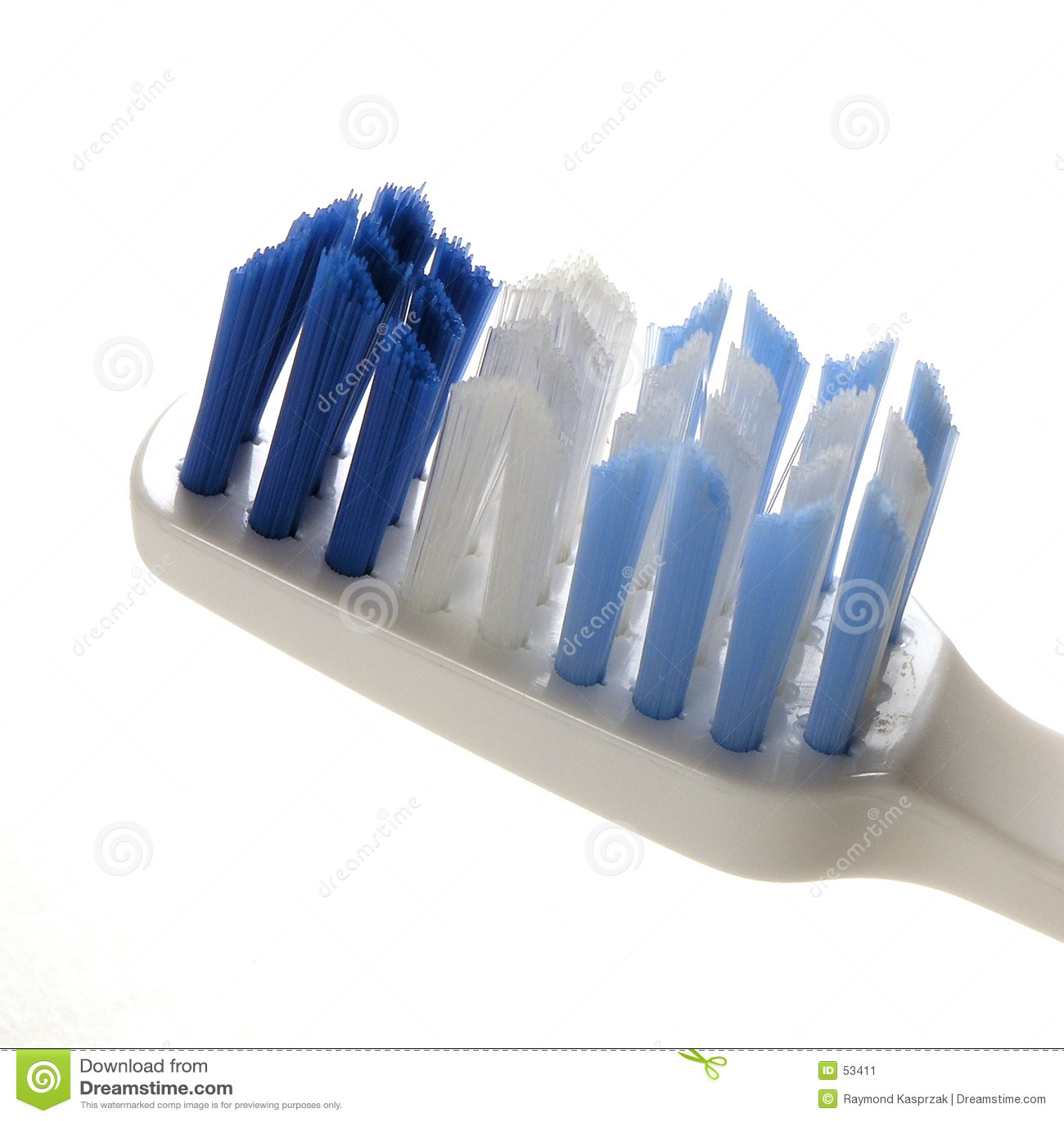 Macro del toothbrush