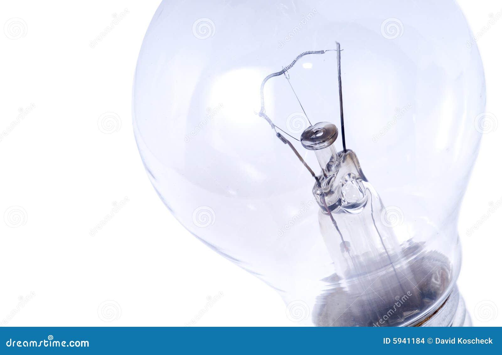 Macro della lampadina
