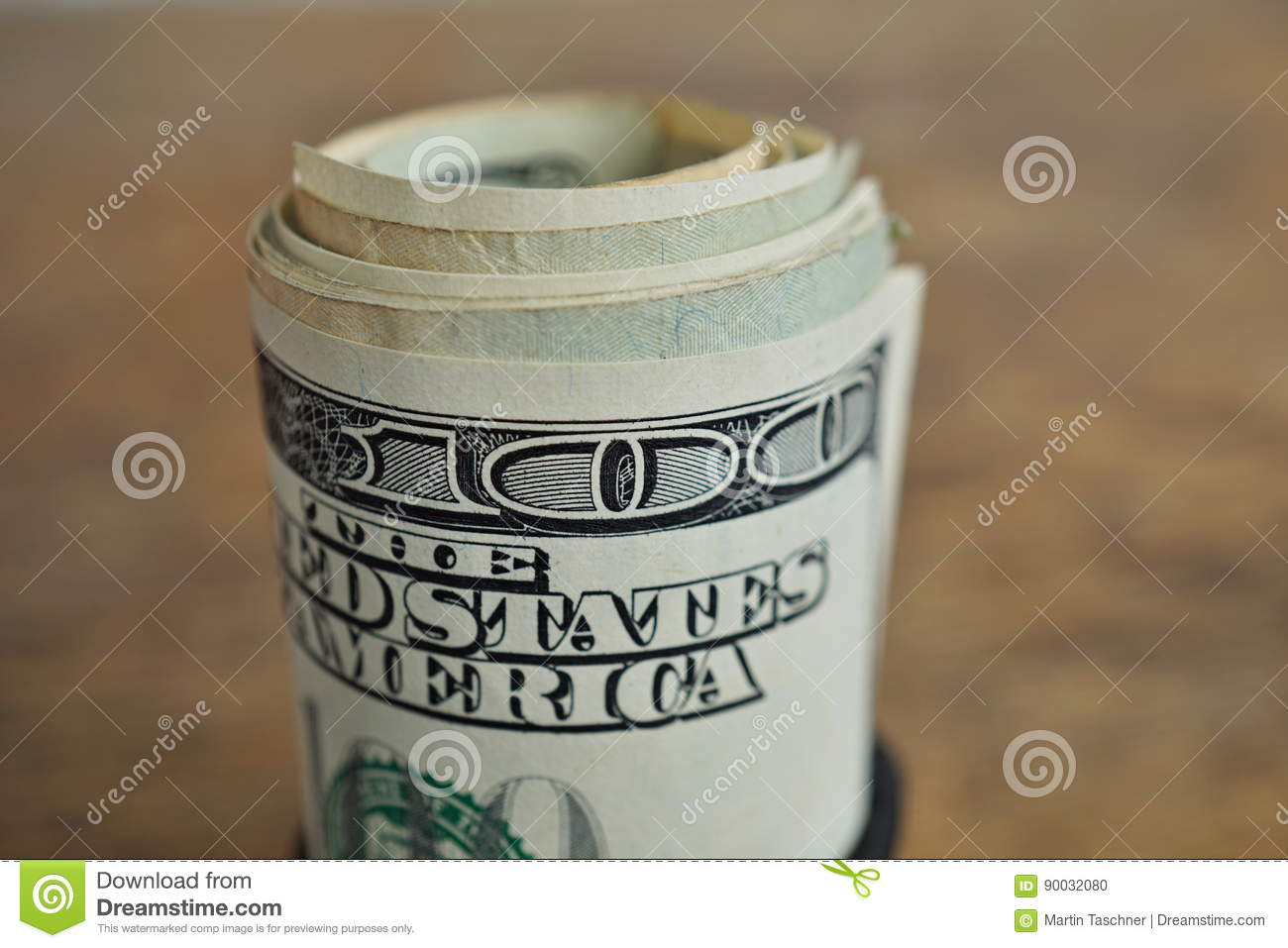 Macro detail of a green roll of american currency usd american royalty free stock photo biocorpaavc