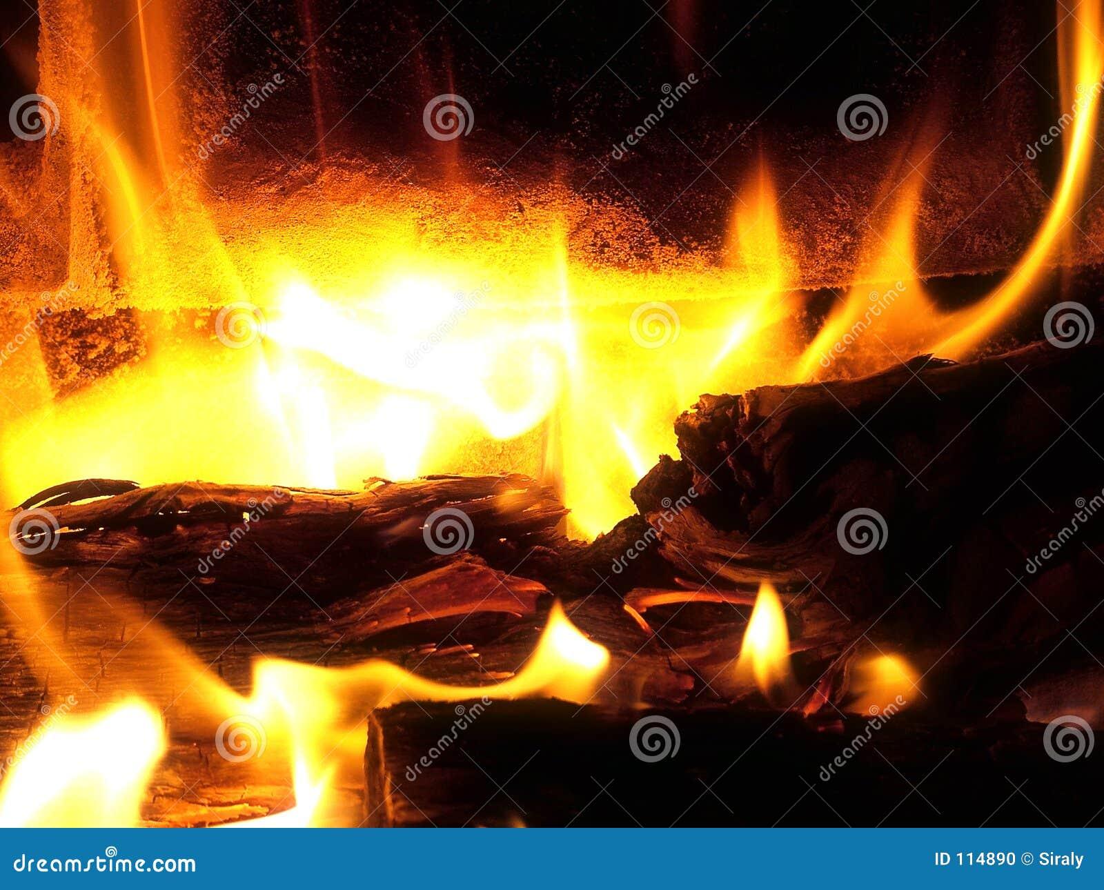 Macro do incêndio