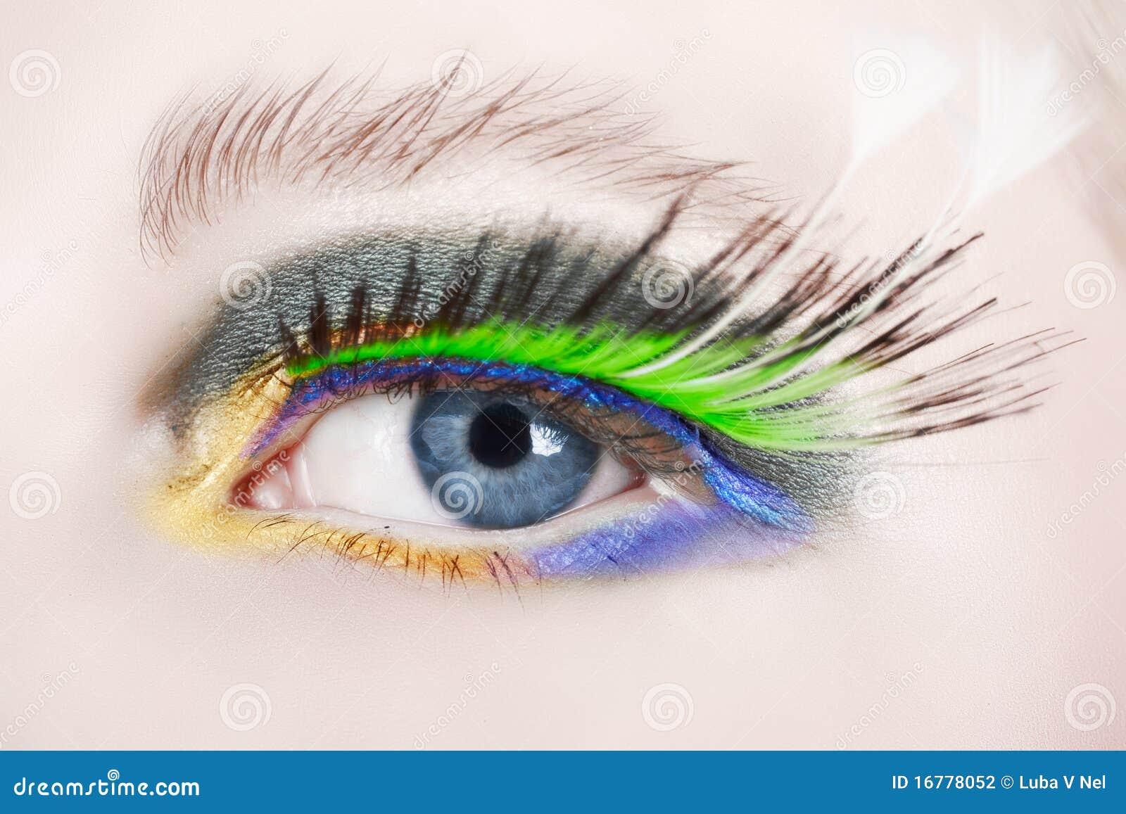 6d36bae7578 Macro Eye With False Lashes Stock Photo - Image of false, grey: 16778052