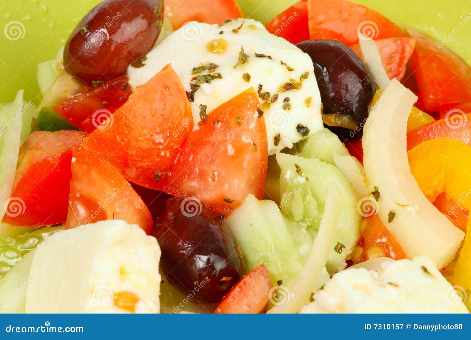 Macro greca dell insalata