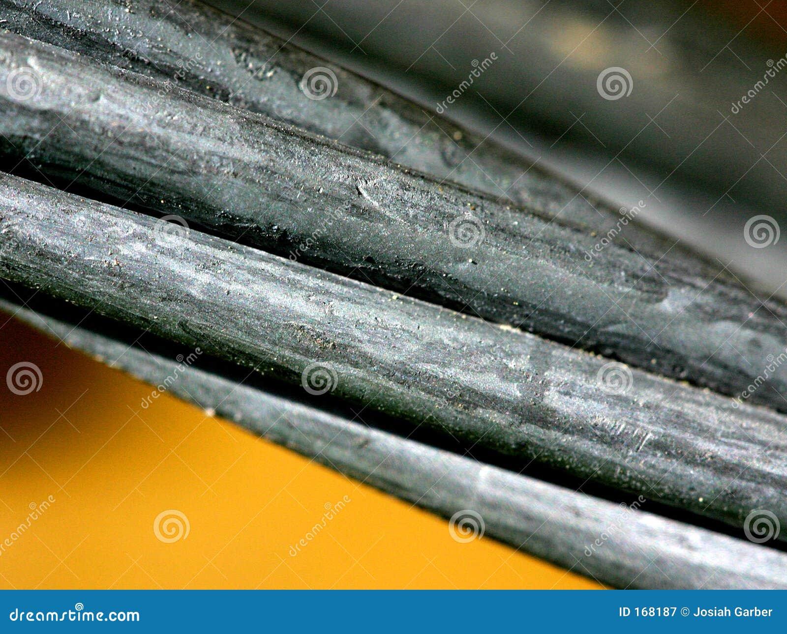 Macro of Metal Cable