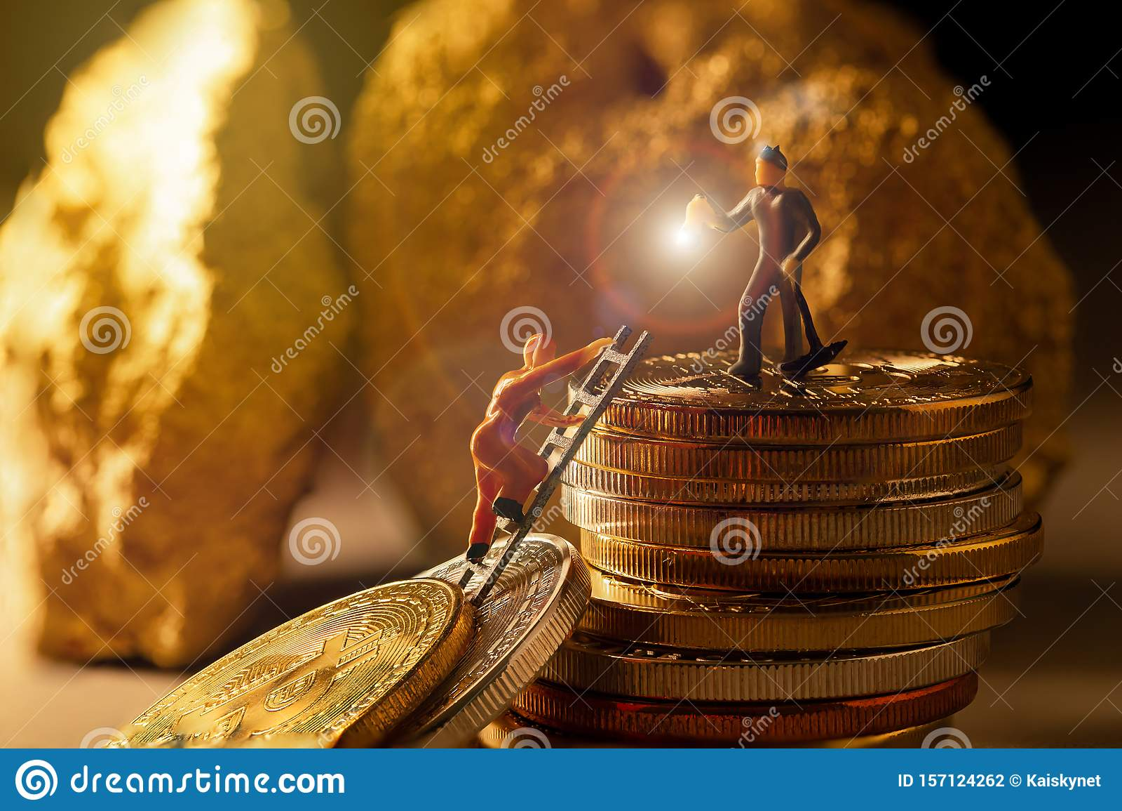 deep bitcoin mining