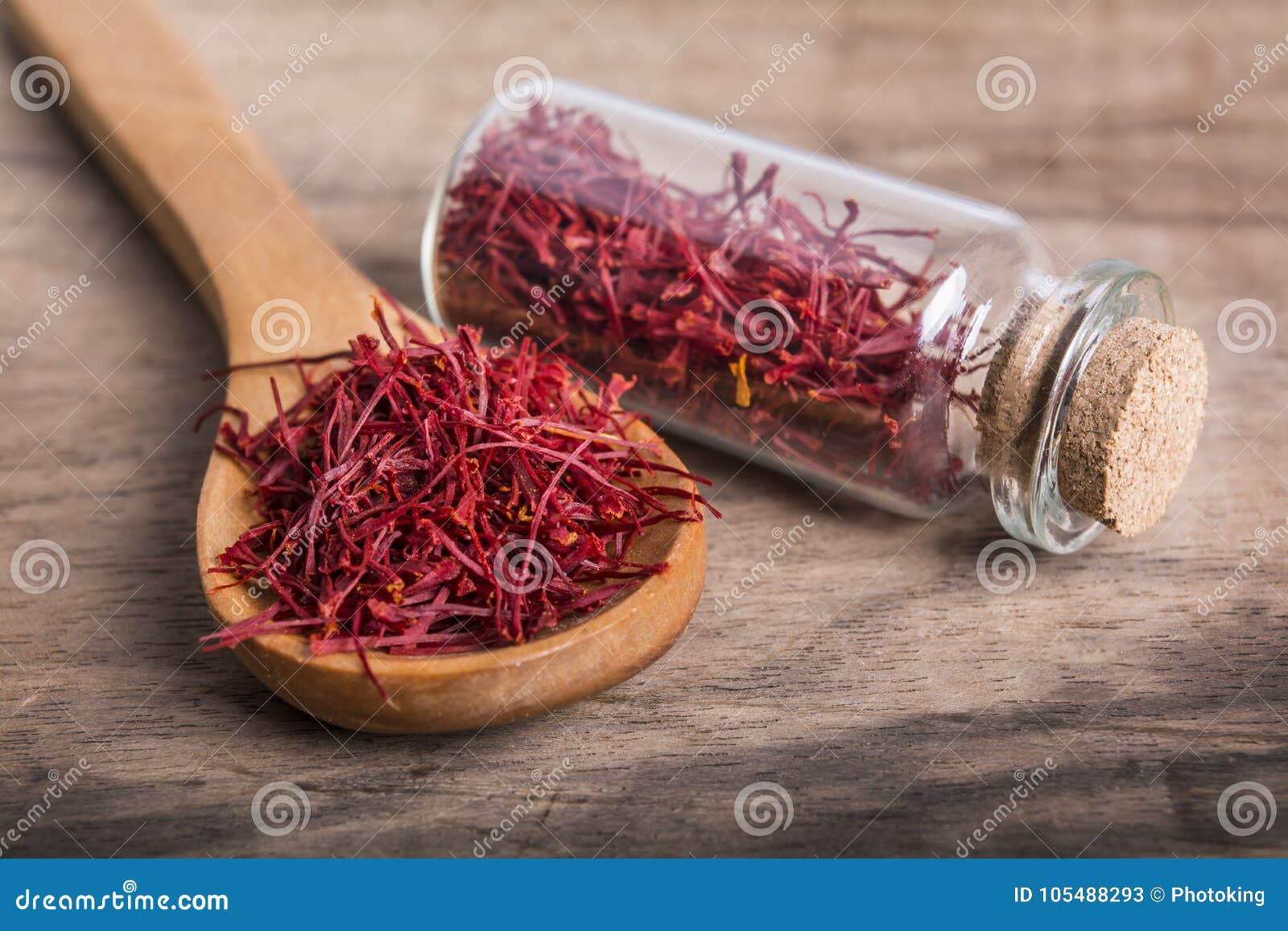 Saffron Spice Stock Image Image Of Herb Flavor Flower 105488293