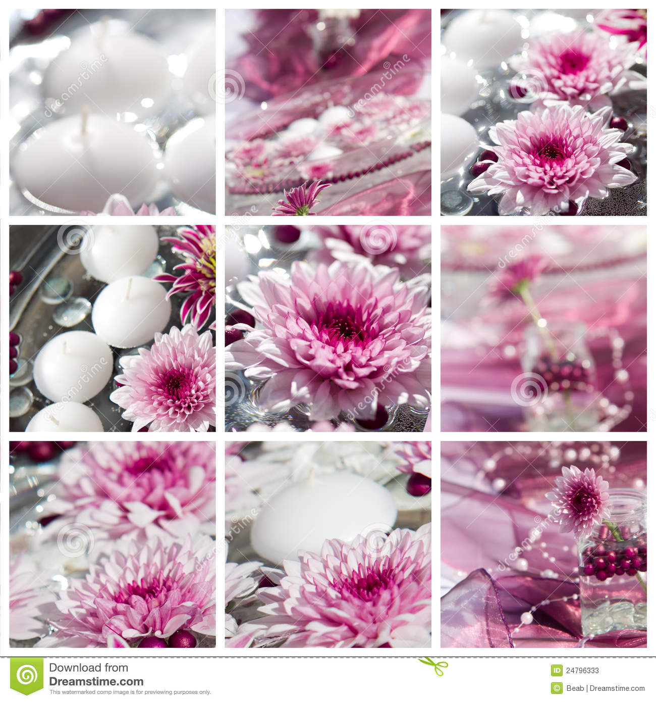 Flower table decorations - Decoration Flower Party Table