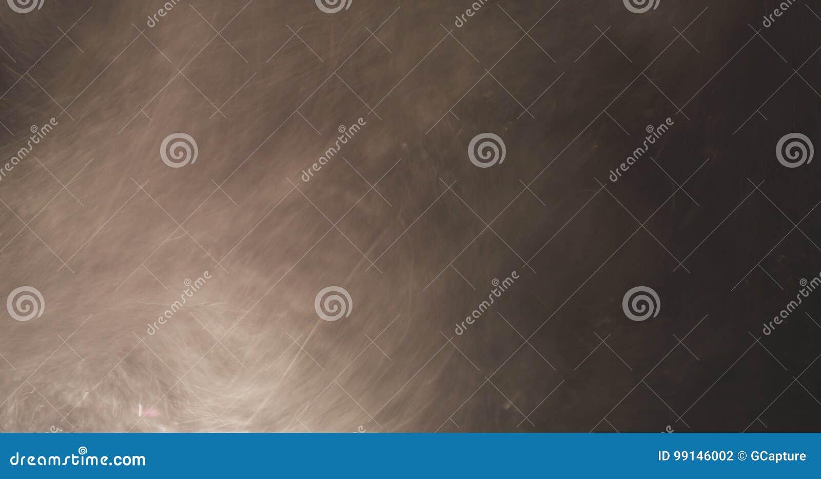 Macro shot of sand dust explosive flow for overlay