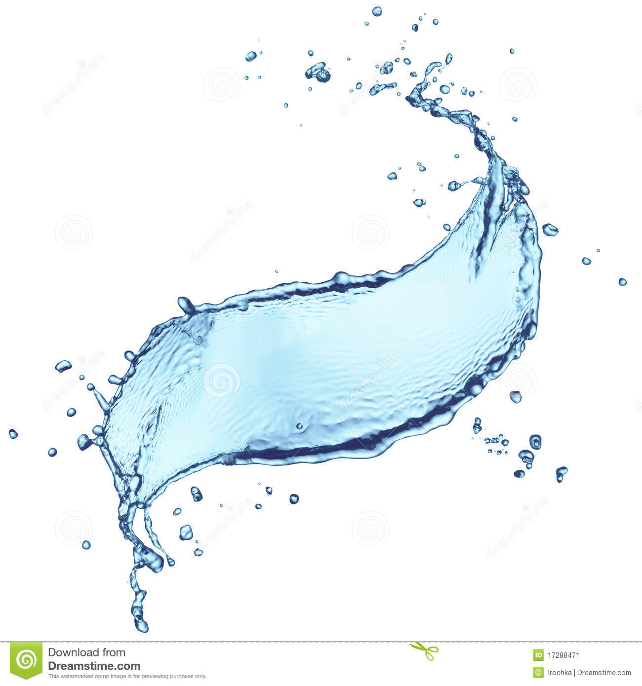 macro splash of water stock image image of blue splash 17288471