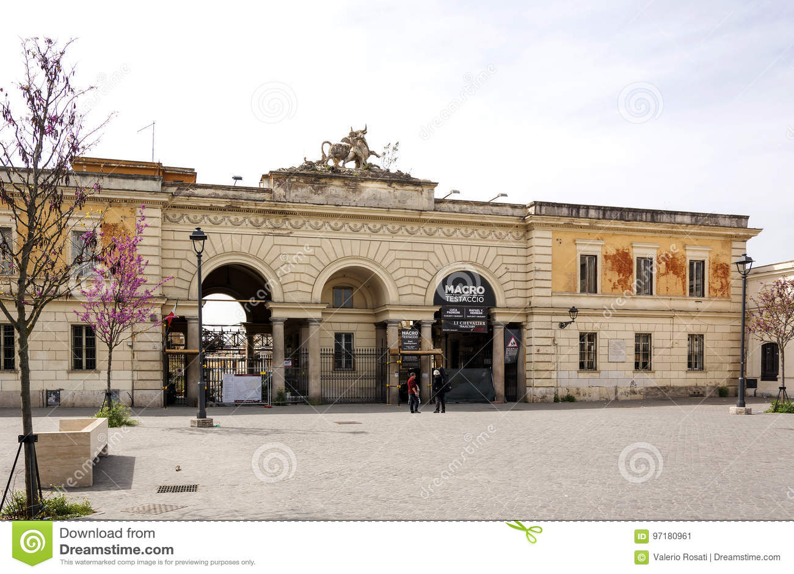 MACRO Testaccio. Museum Of Contemporary Art Of Rome ...