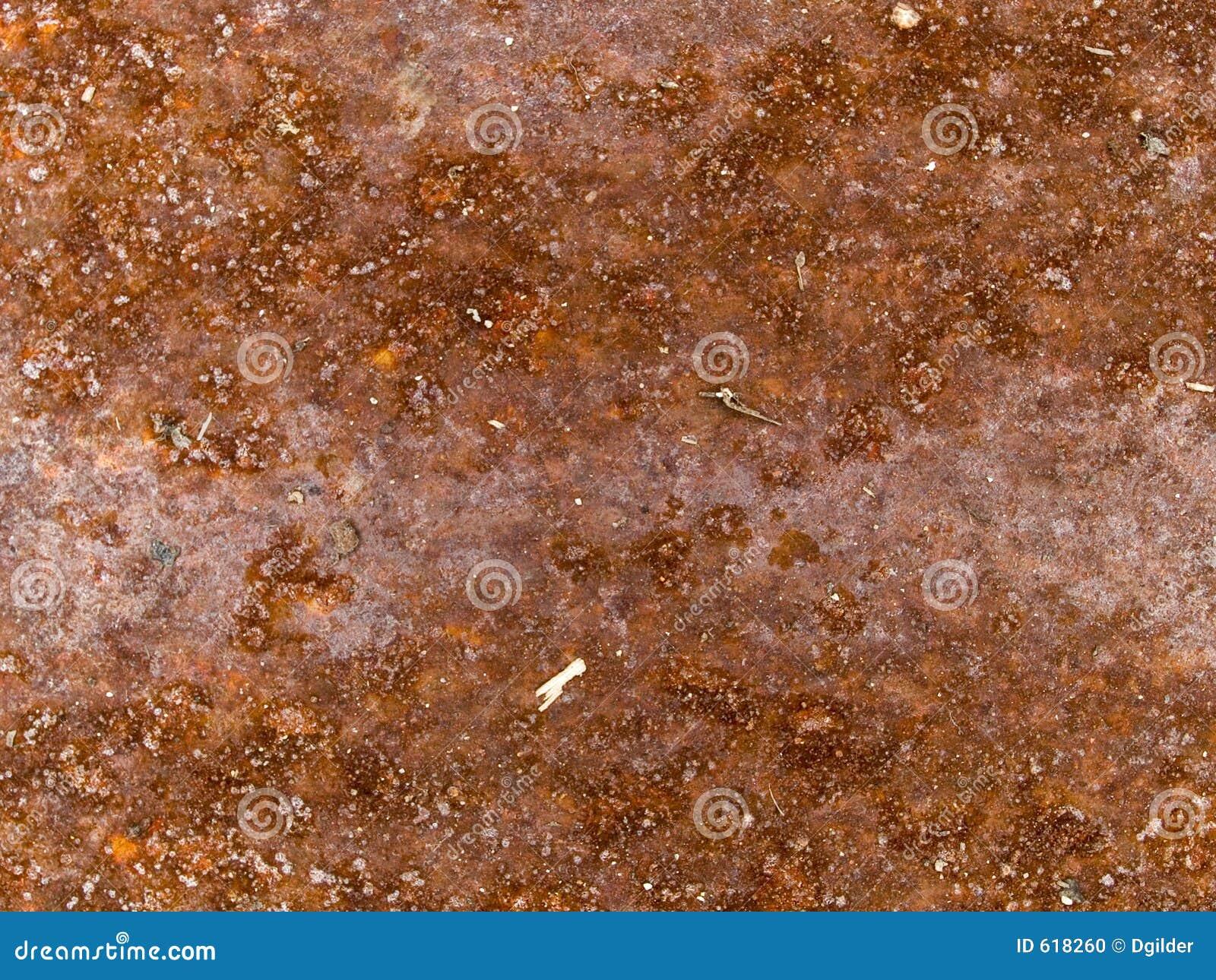 Macro textuur - roestig metaal -