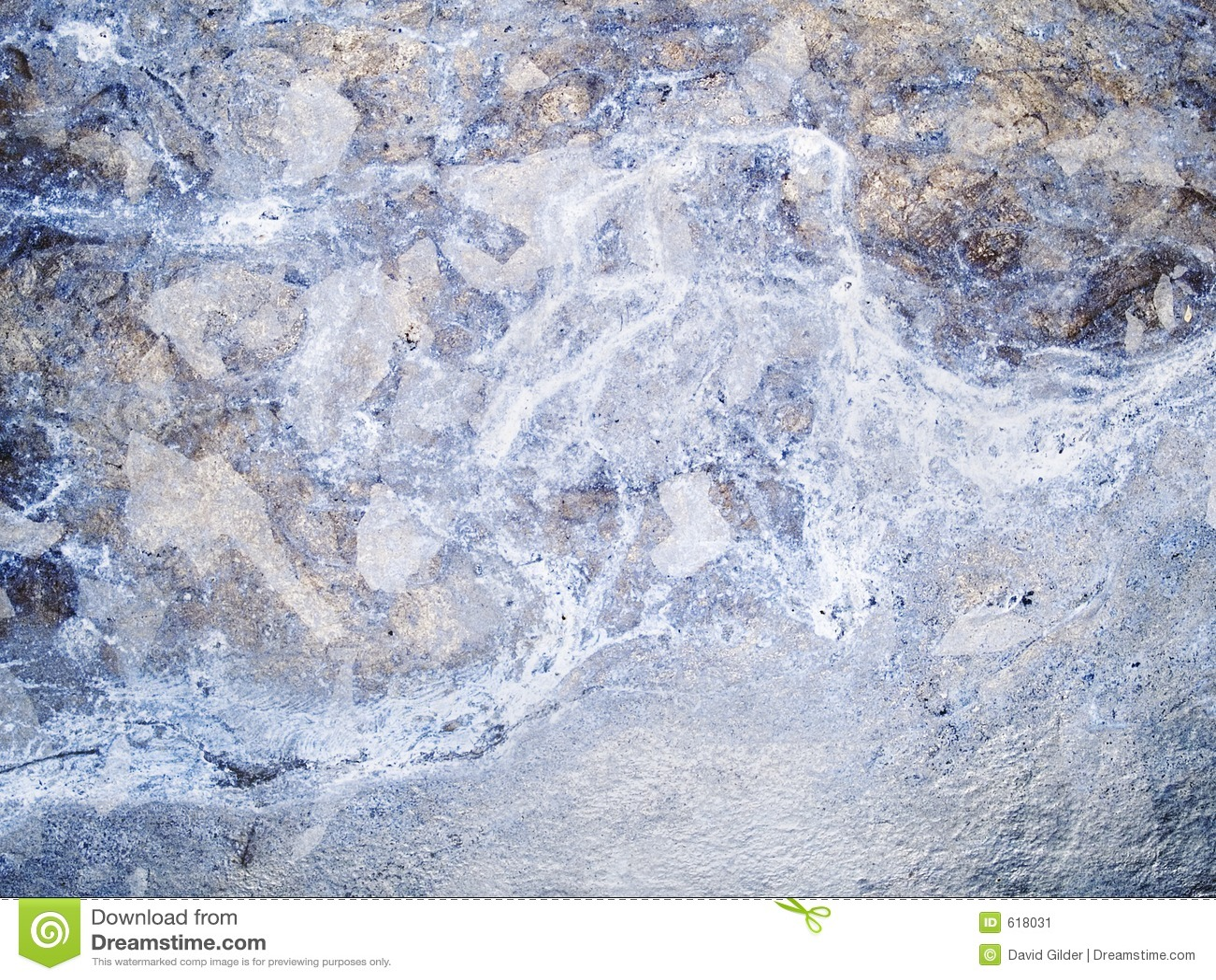 Macro textuur - verkleurd metaal -
