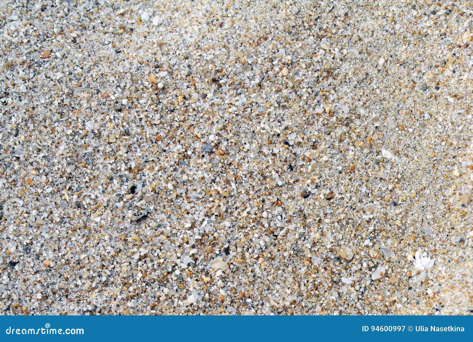 Macro tir de texture du sable