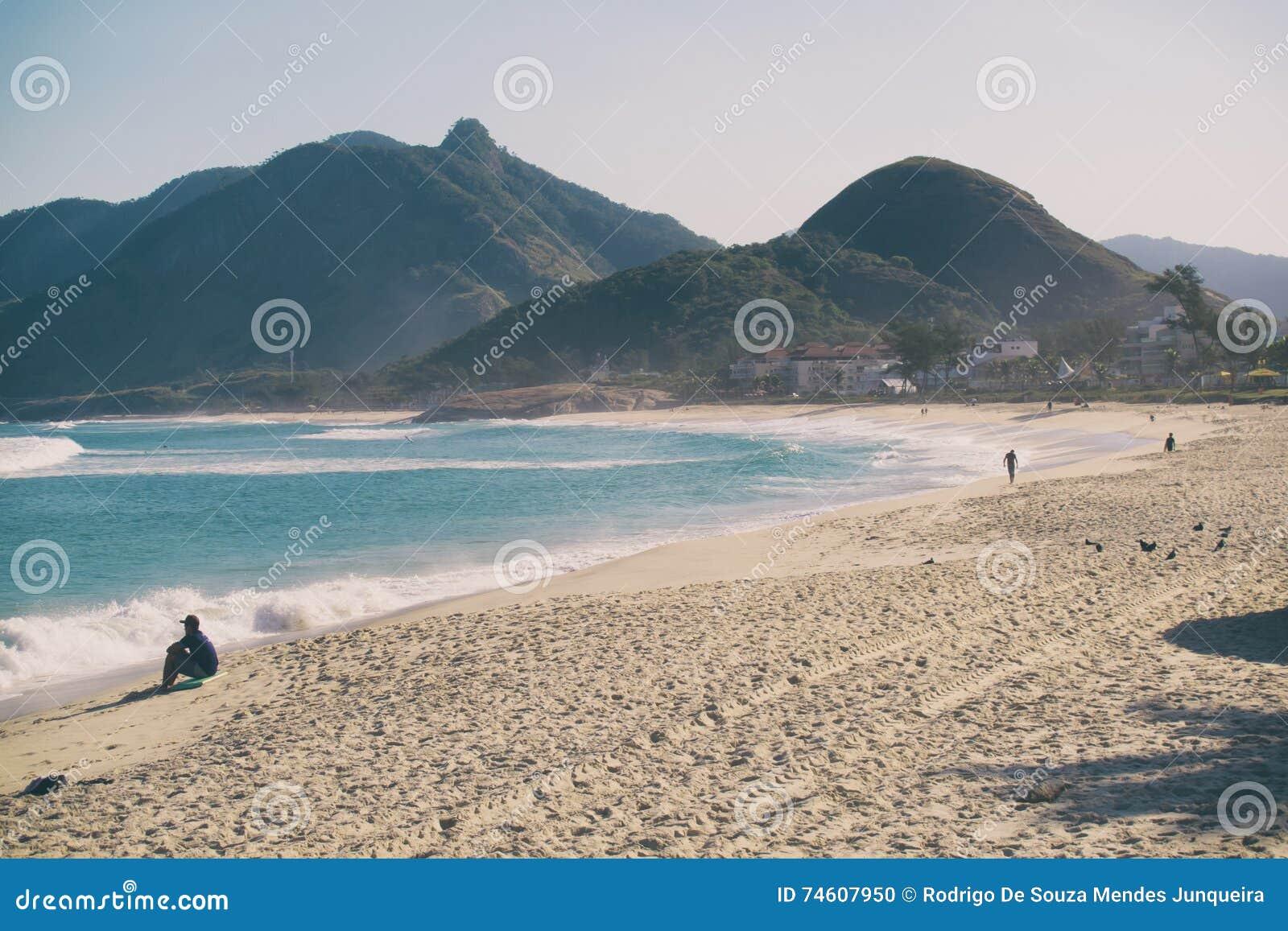 Macumbas strand i Rio de Janeiro