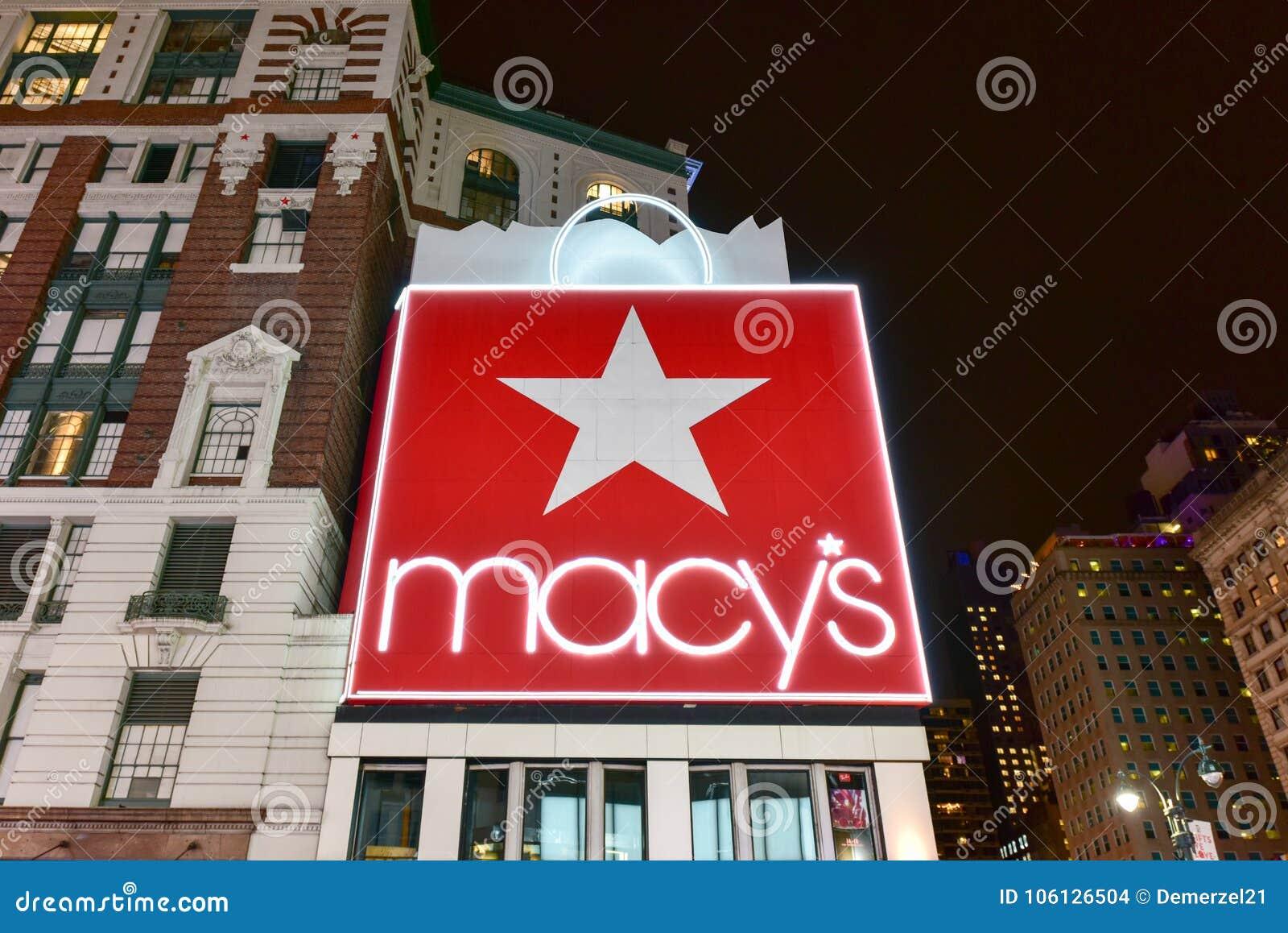 Macy ` s - Miasto Nowy Jork