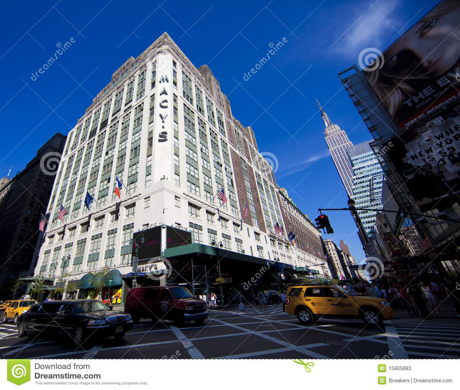 Macy's In New York City Editorial Stock Photo