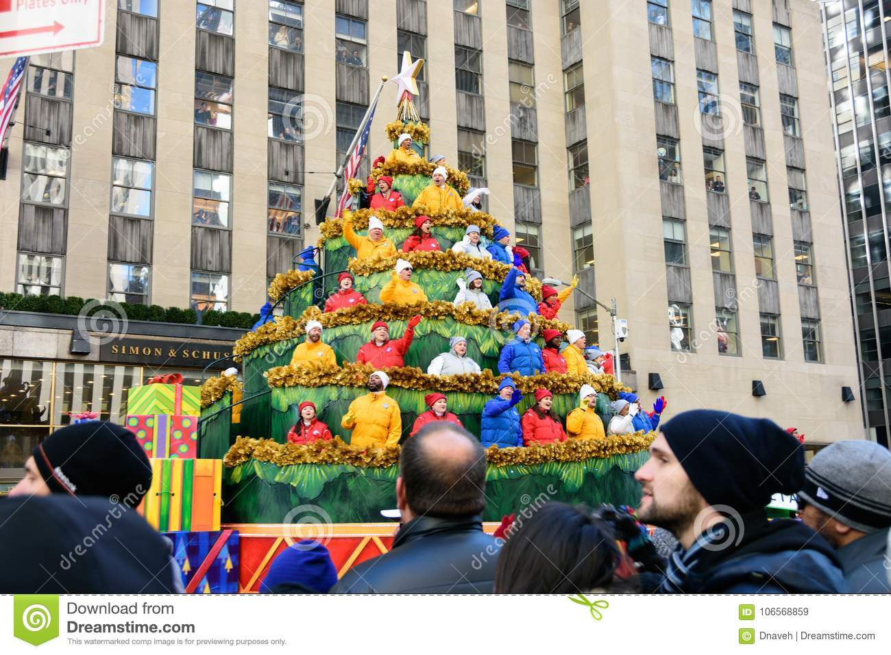Macy`s Thanksgiving Day Parade In New York City Editorial