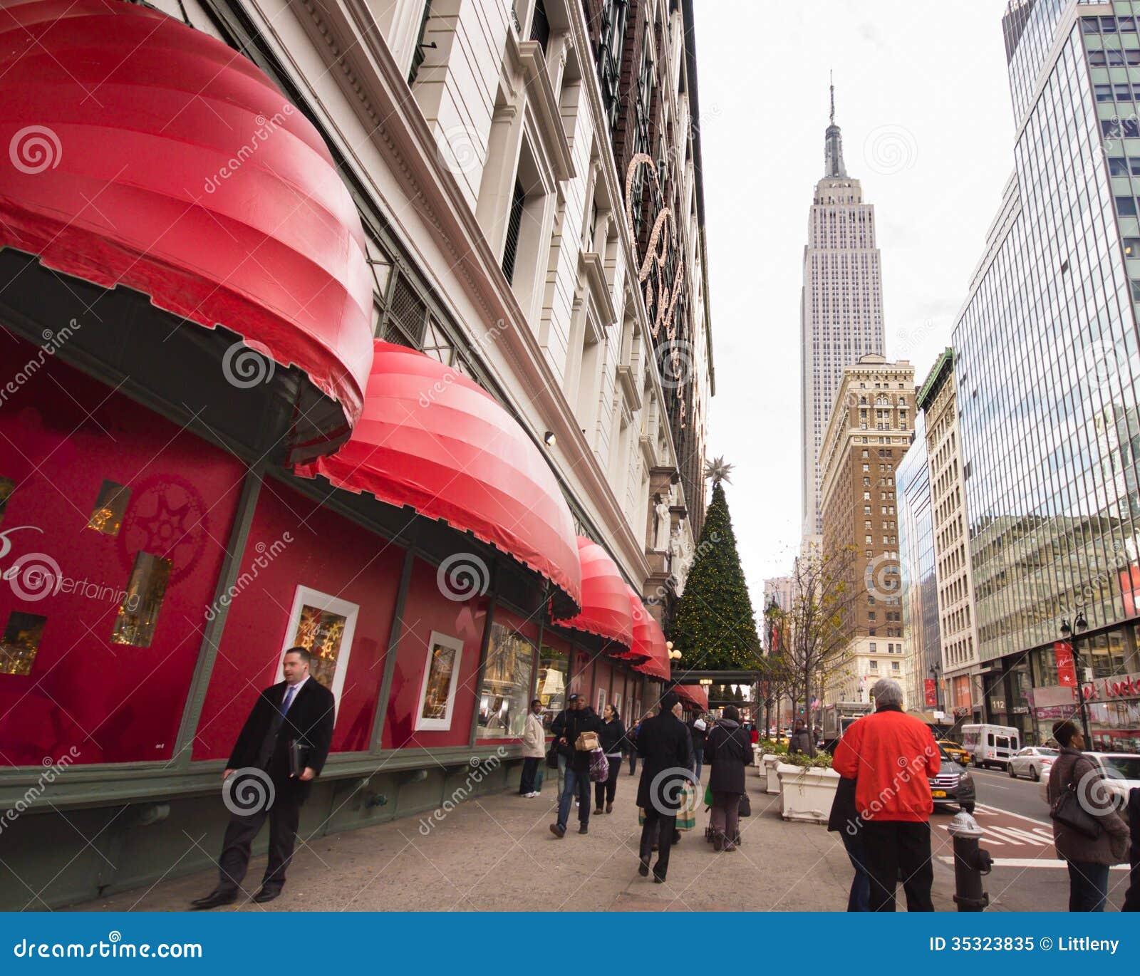 Macys NYC Editorial Image