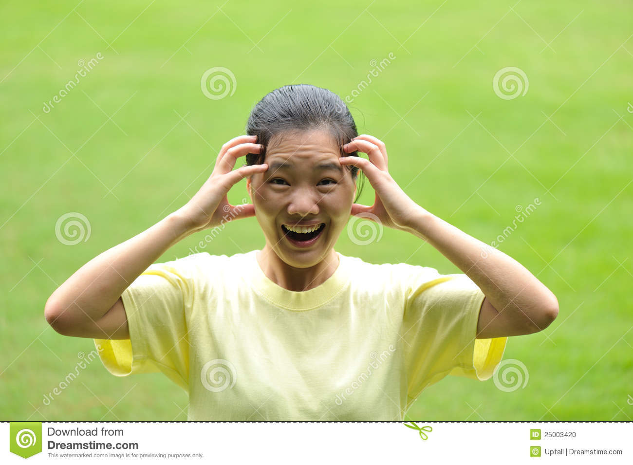 mad asian woman stock photo   image 25003420