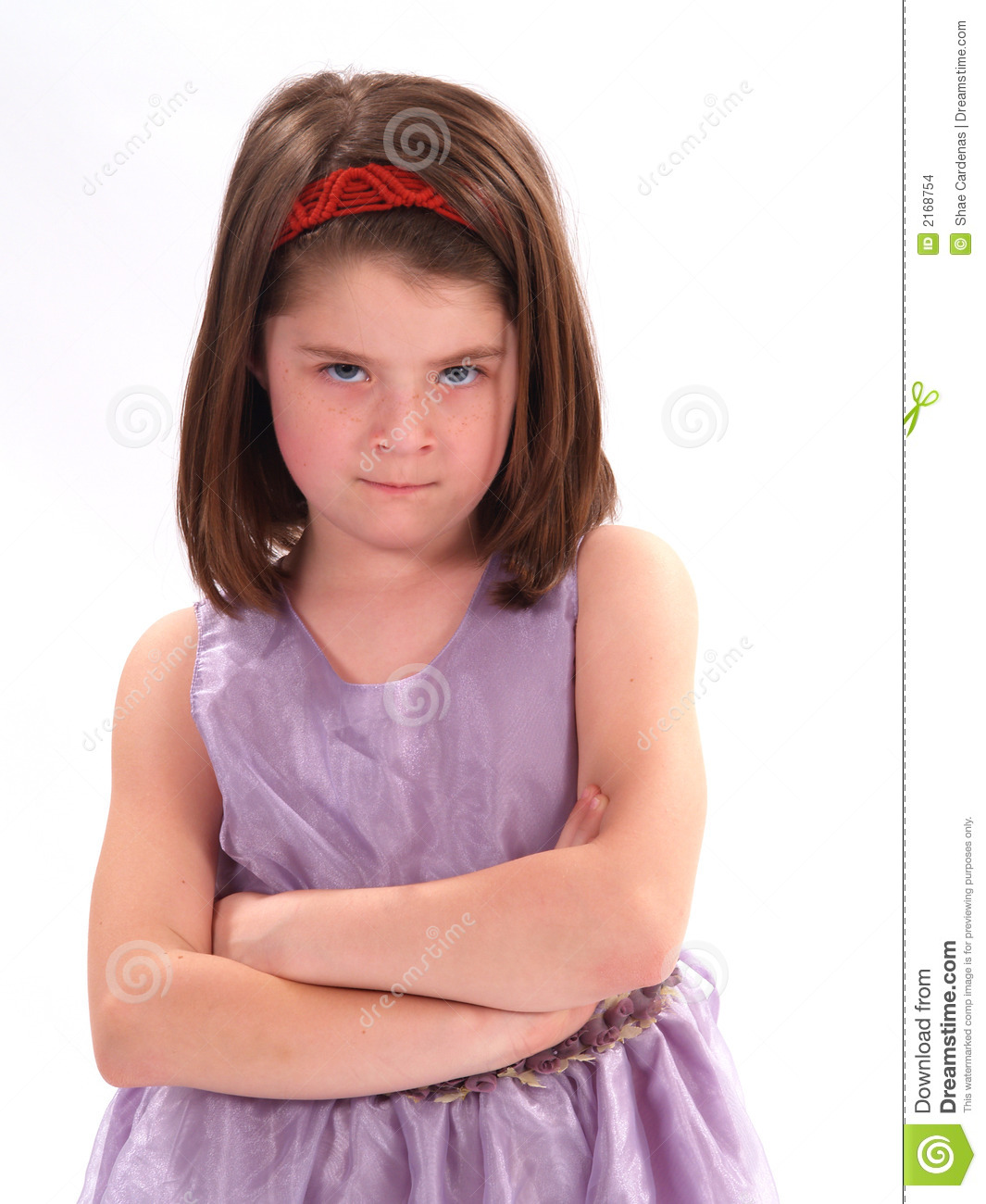 Mad Little Girl Stock Images Image 2168754