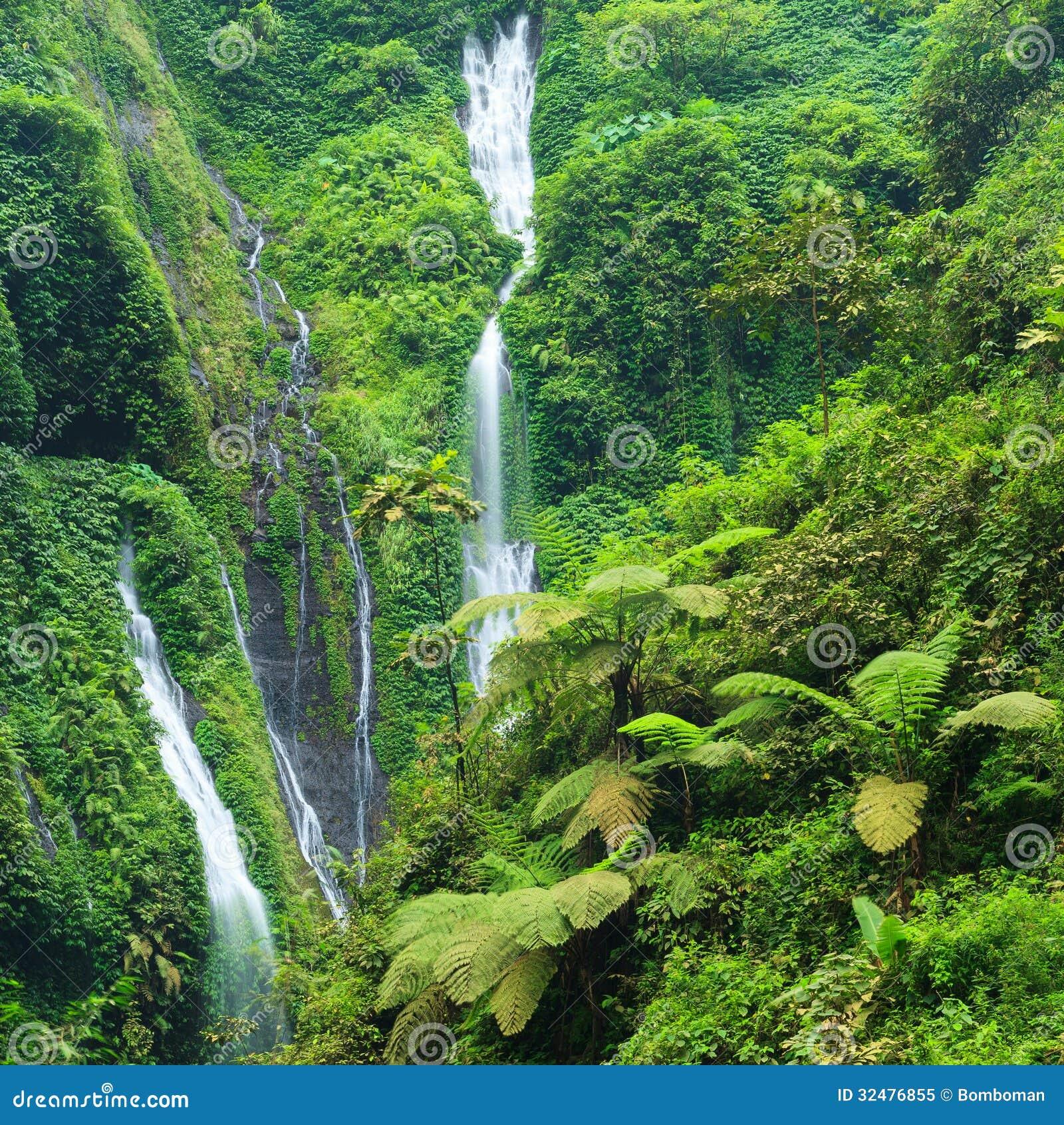 Madakaripura Waterfall in East Java, I