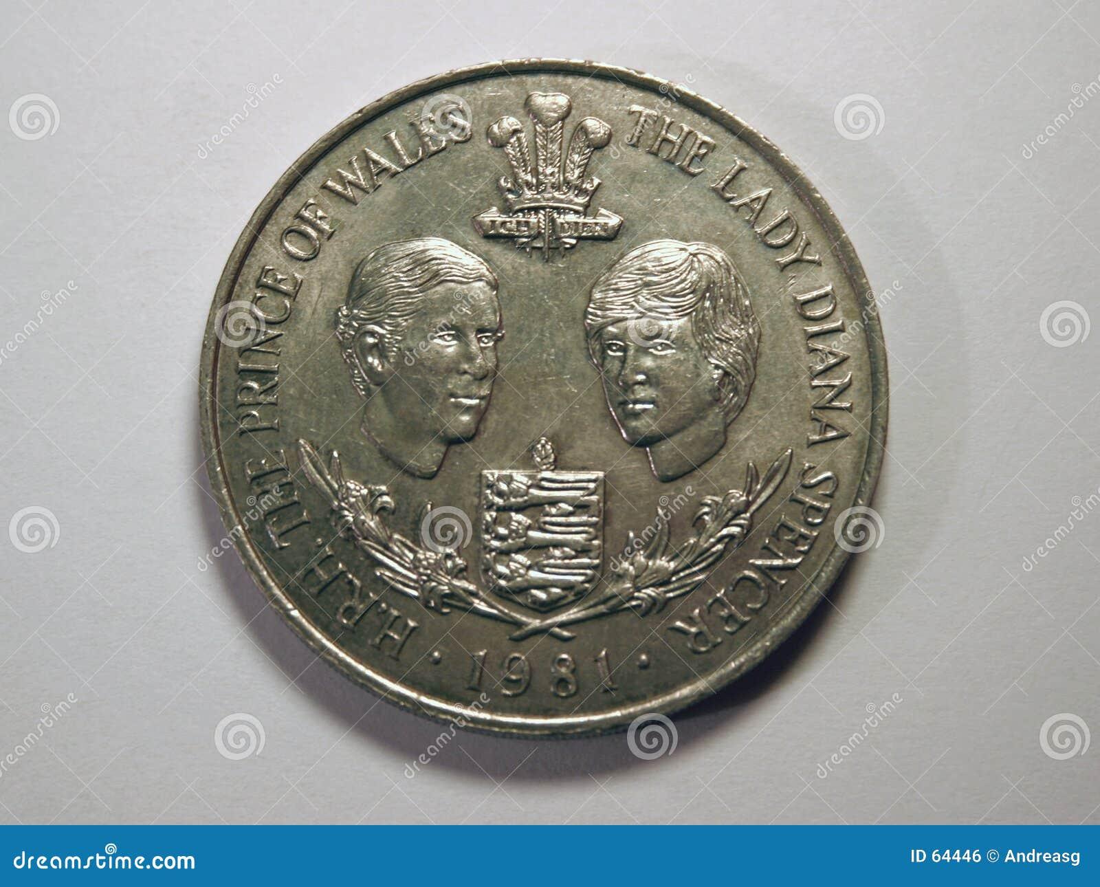 Download Madame Diana Et Prince De Galles Photo stock - Image du prince, coin: 64446