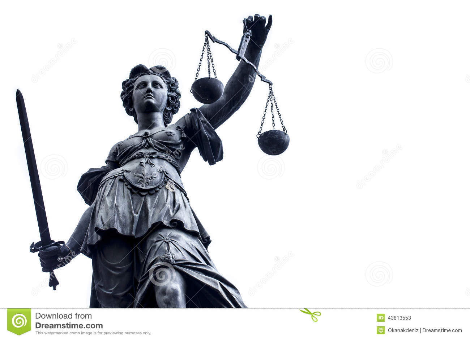 Madame Justice Stature n Allemagne, Francfort
