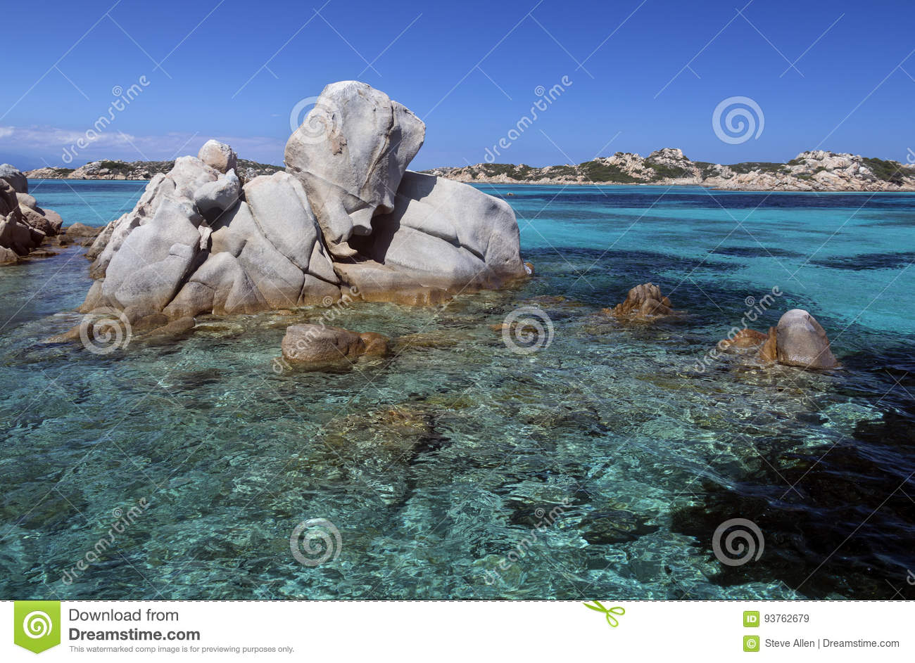 Maddalena Islands - Cerdeña - Italia