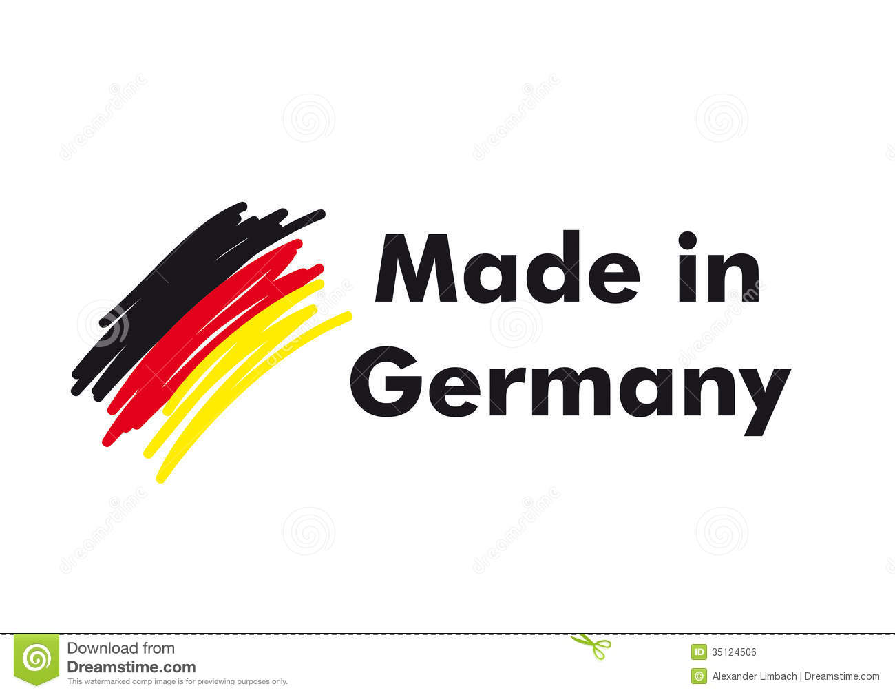 Made In Germany Royalty Free Stock Image - Image: 35124506