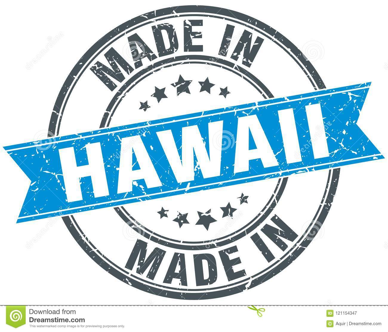 Made In Hawaii Stamp