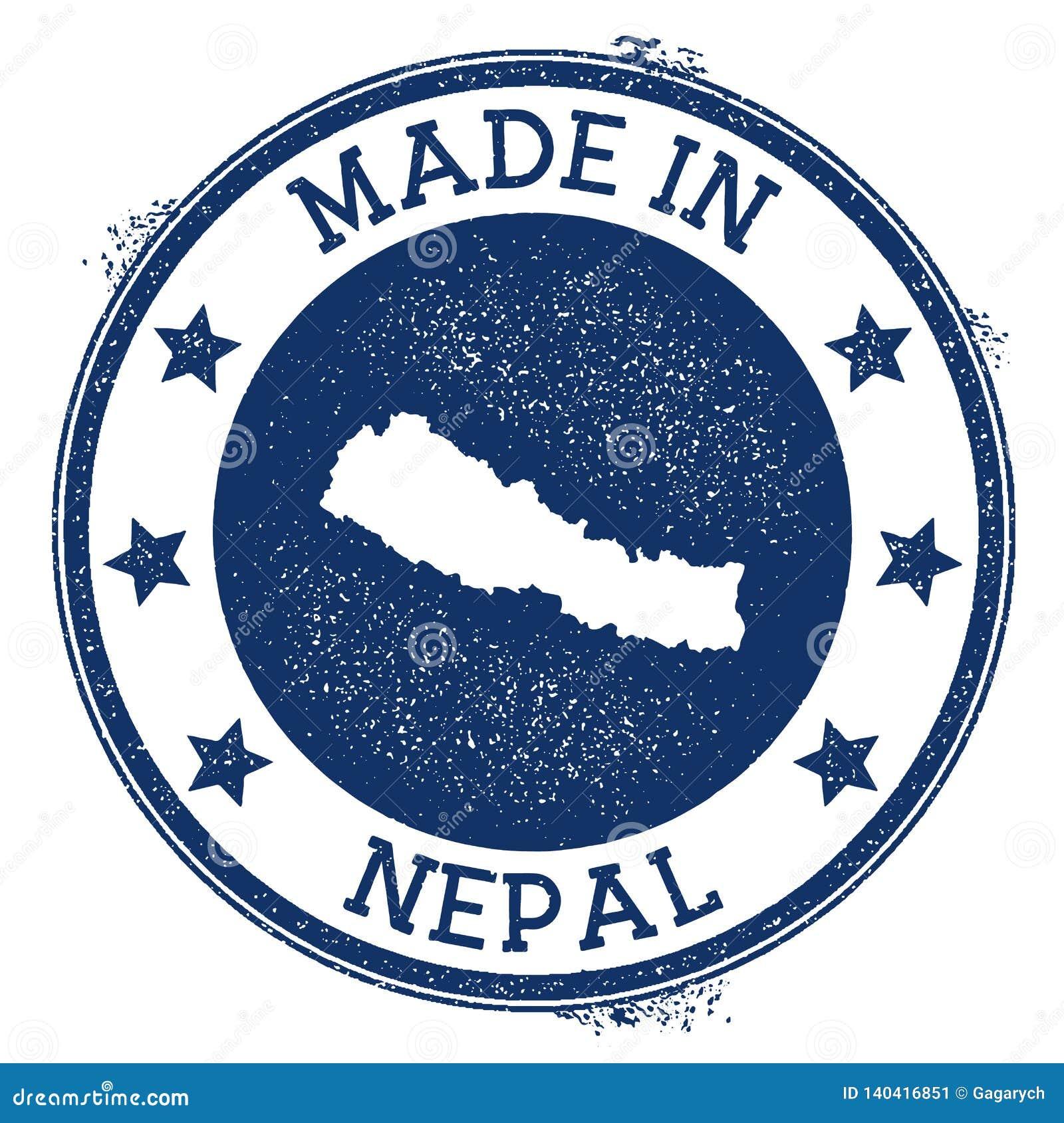 Made in Nepal stamp. stock vector. Illustration of kathmandu ...
