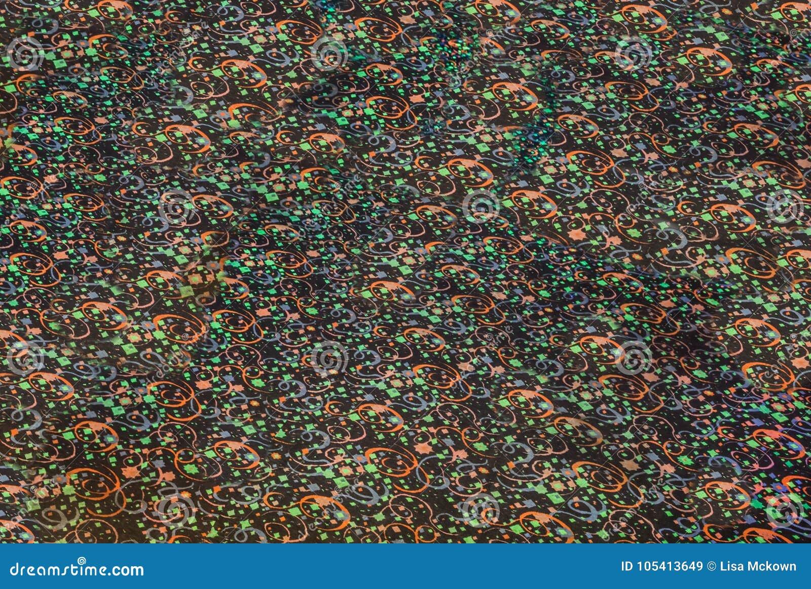 Seamless Pattern Of An 80s Paint Splash Texture Stock Illustration