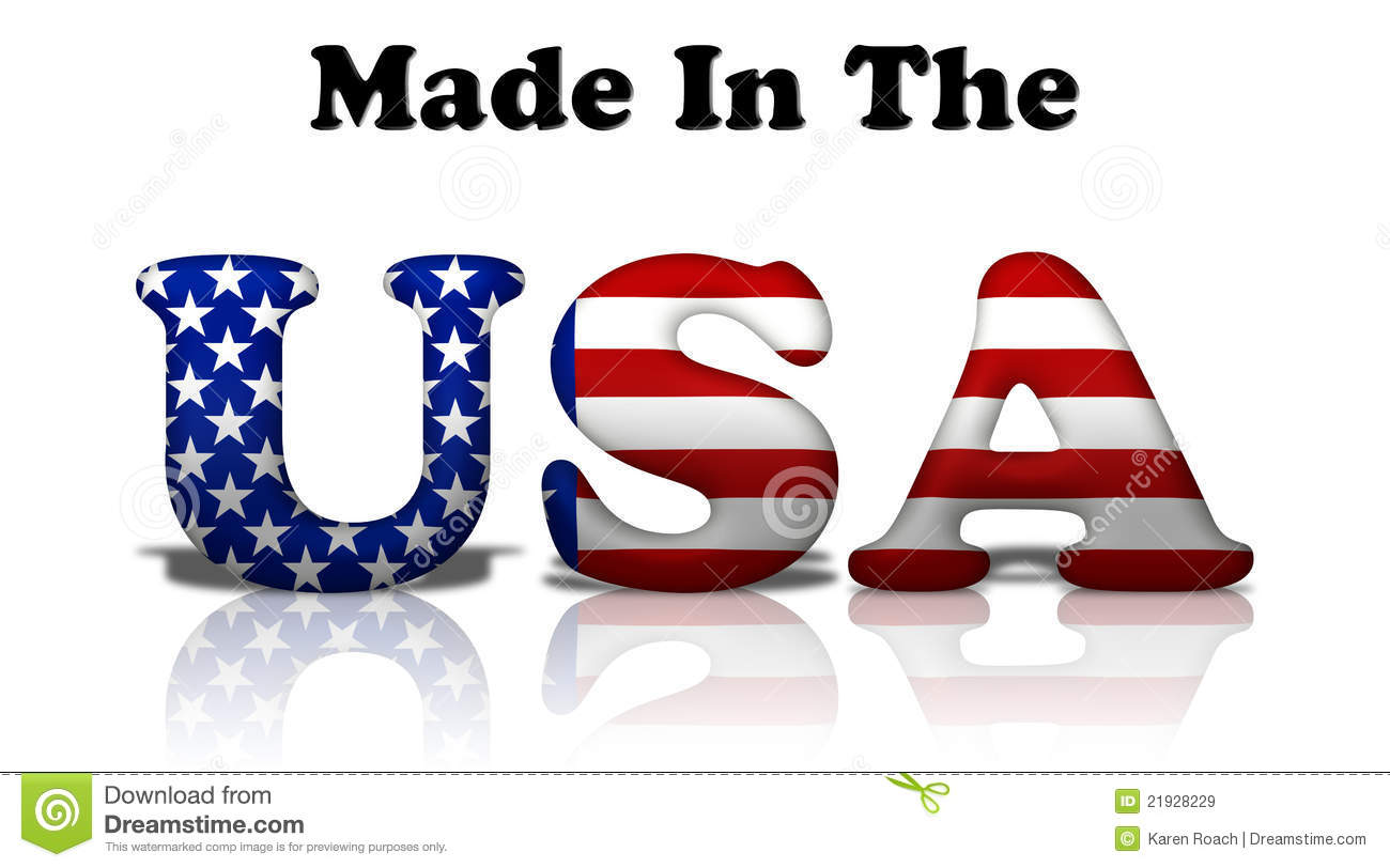made in the usa stock image image of american states 21928229