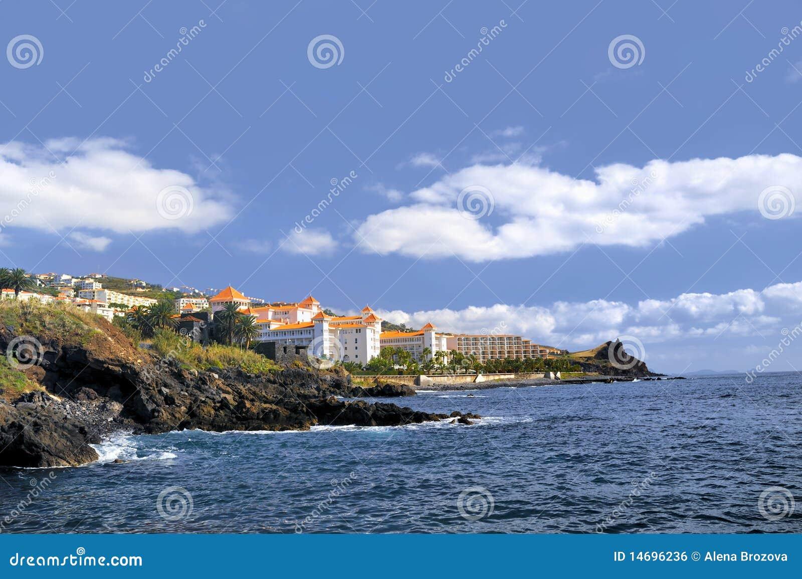 Madeira coastline, Canico de Baixo